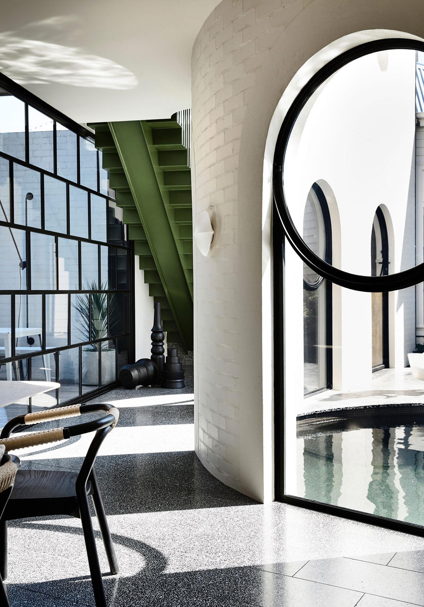 Kennedy Nolan Architects Edwardian Caroline House Melbourne Architecture Intérieur Extérieur