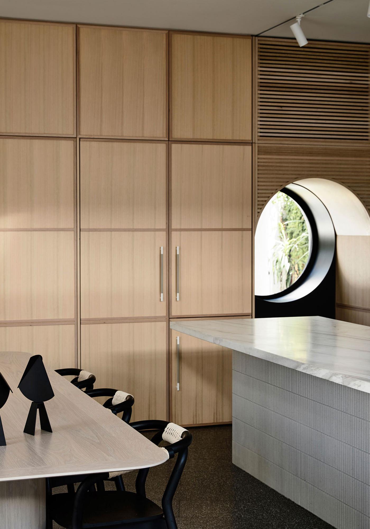 Kennedy Nolan Architects Edwardian Caroline House Melbourne Cuisine Bois Clair