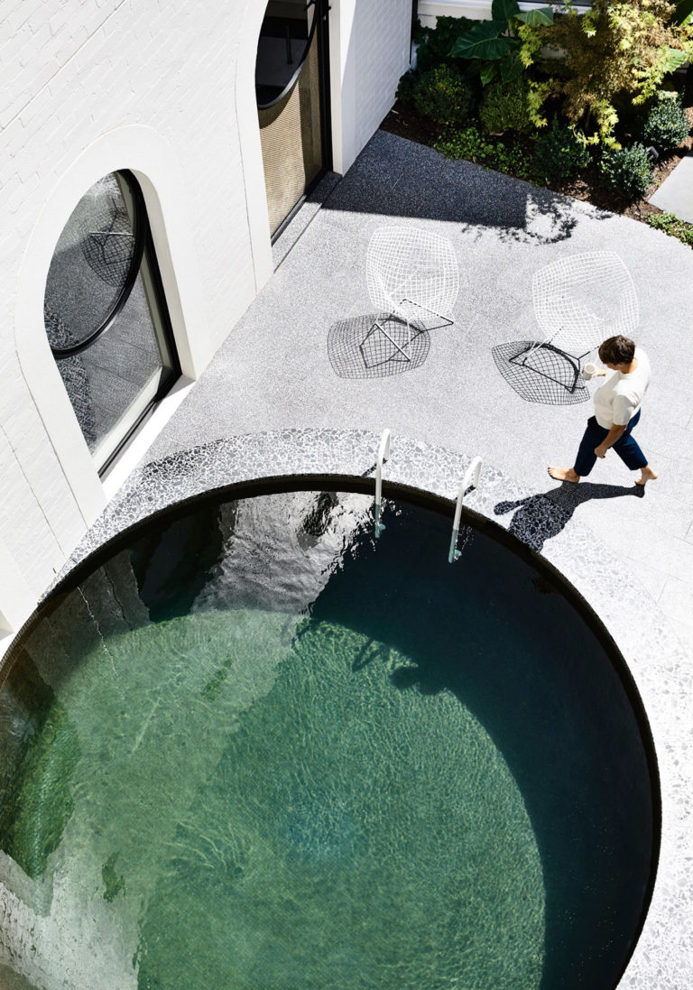 Kennedy Nolan Architects Edwardian Caroline House Melbourne Piscine Architecture