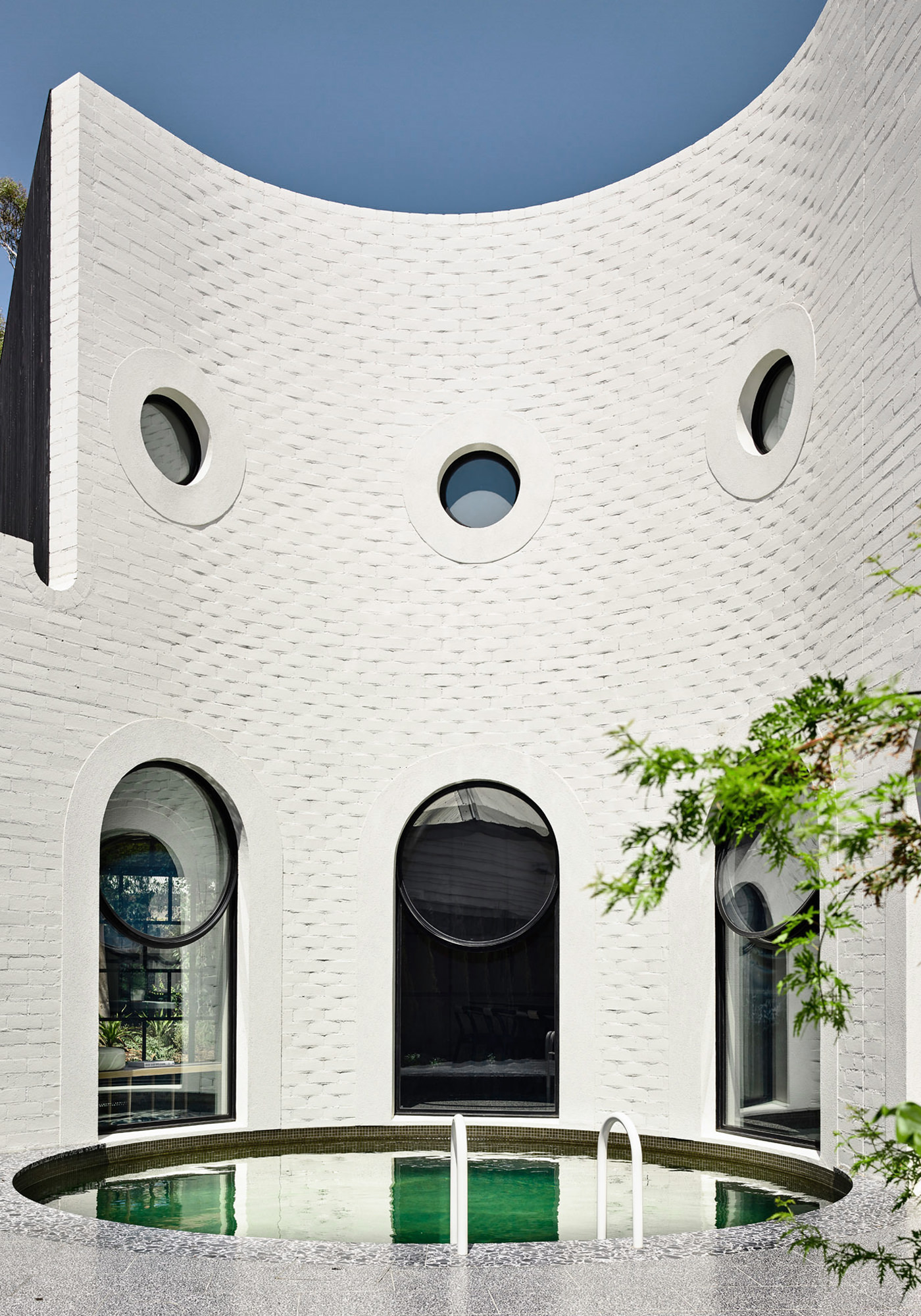 Kennedy Nolan Architects Edwardian Caroline House Melbourne Piscine Architecture