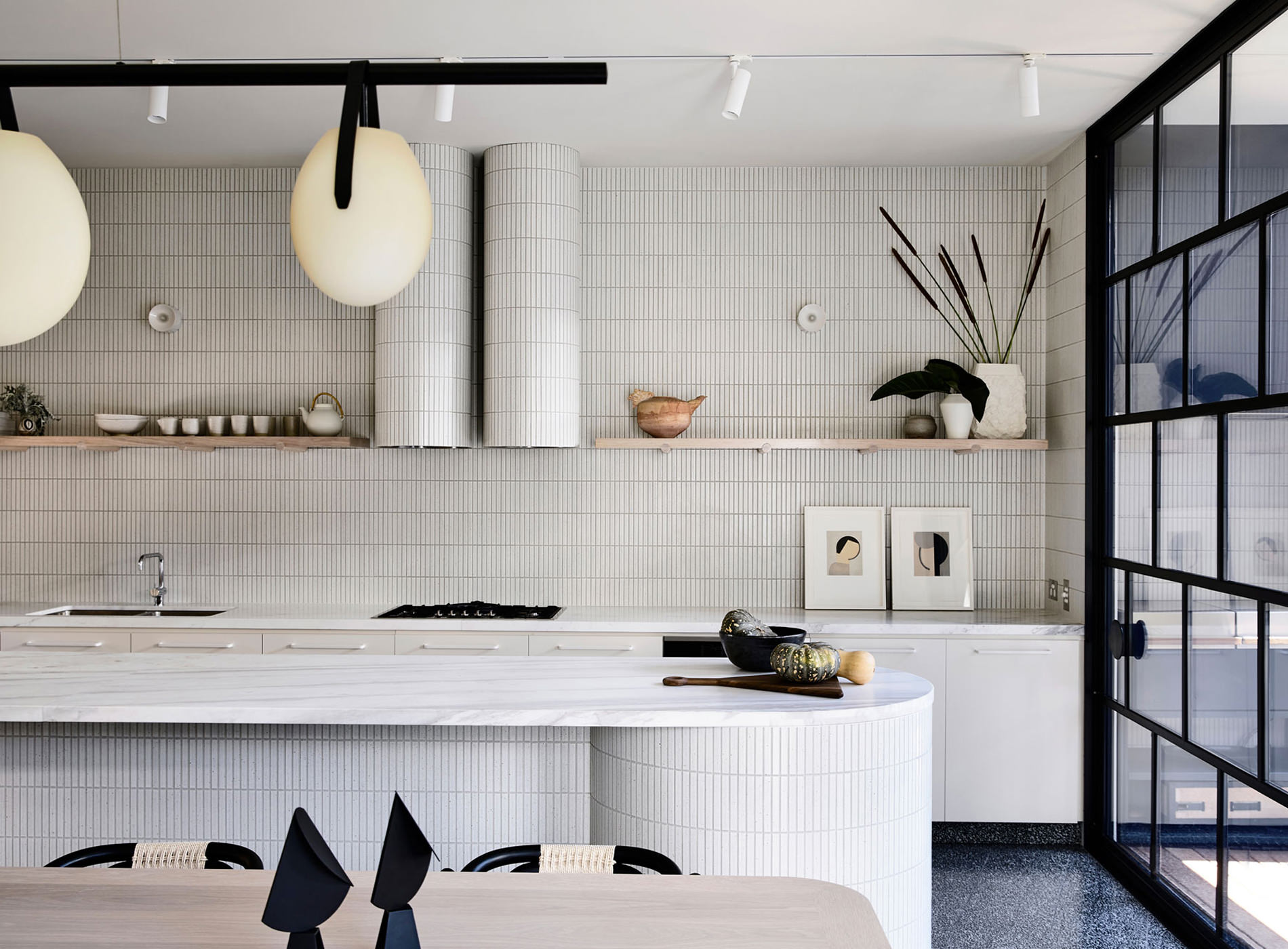 Kennedy Nolan Architects Edwardian Caroline House Melbourne Cuisine
