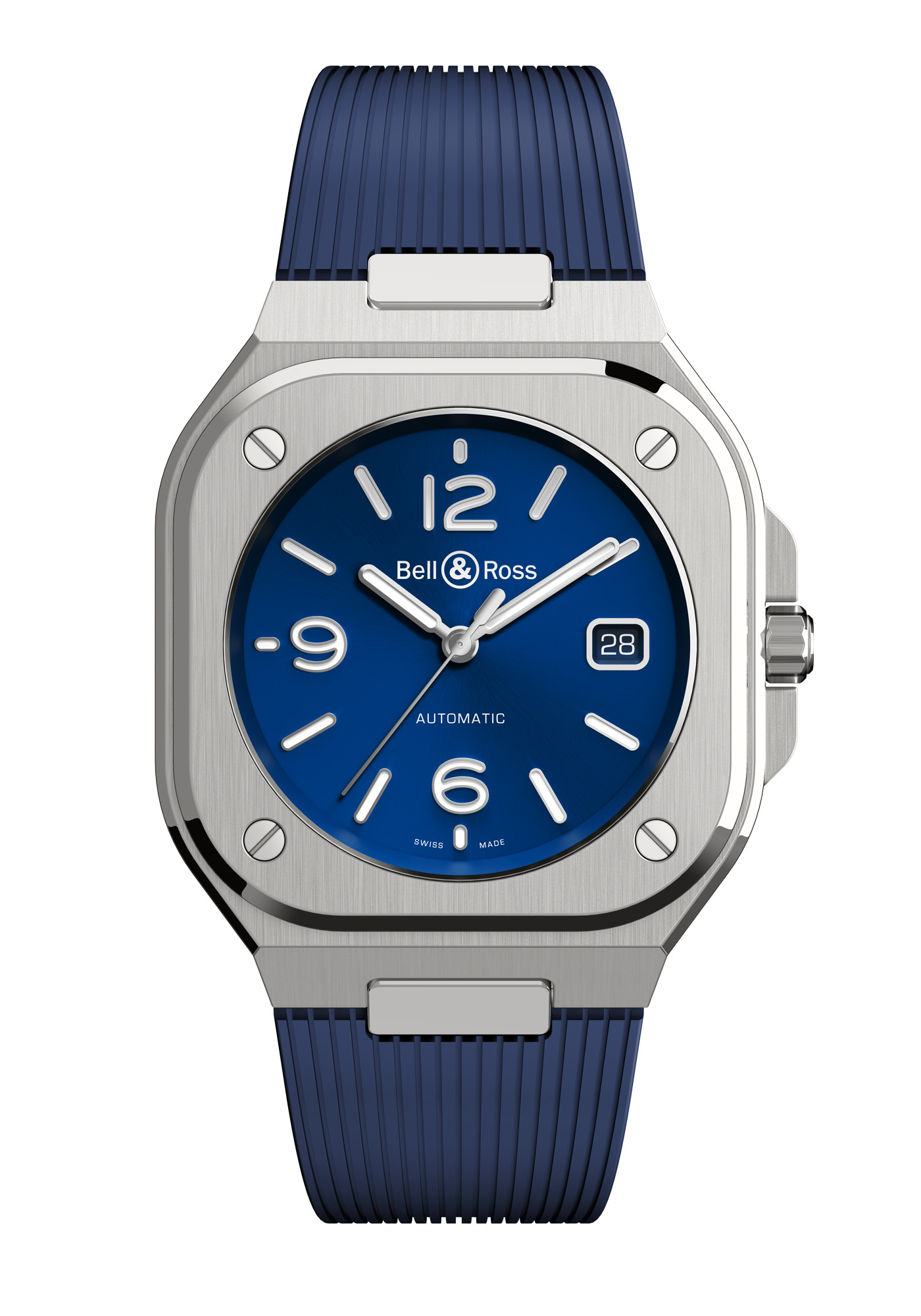 Montre Bell & Ross Nouvelle Collection BR05 Bleue Caoutchouc