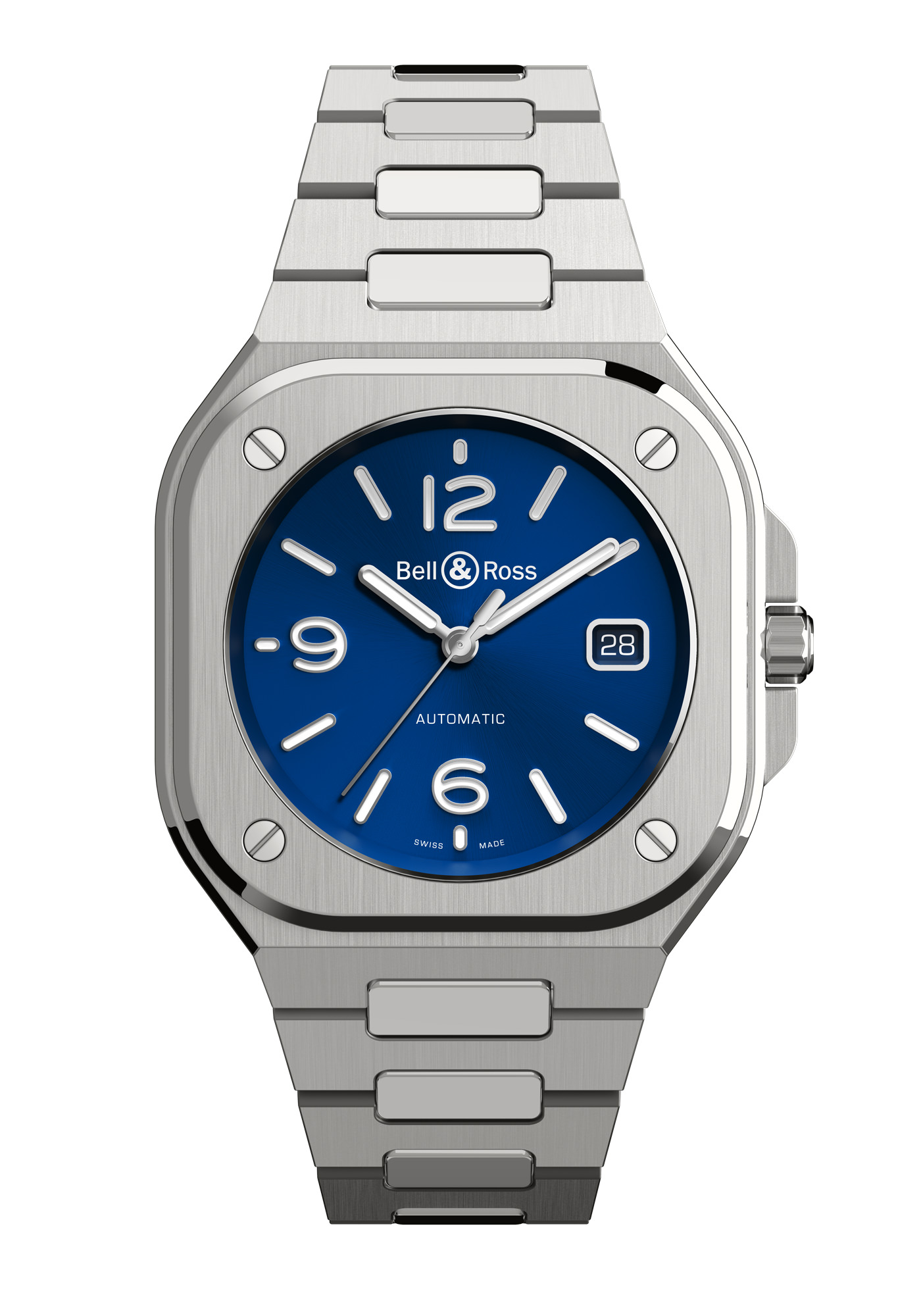 Montre Bell & Ross Nouvelle Collection BR05 Bleue Acier