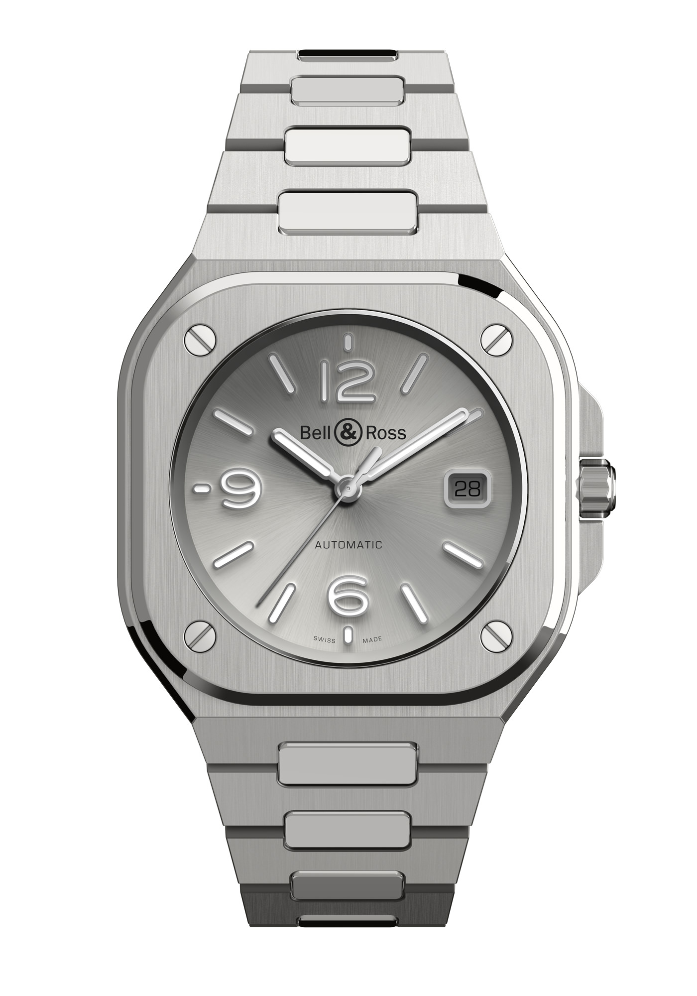 Montre Bell & Ross Nouvelle Collection BR05 Gris Acier