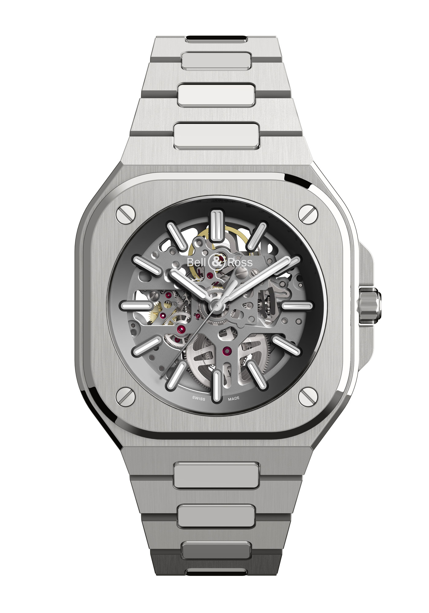 Montre Bell & Ross Nouvelle Collection BR05 Skeleton Acier