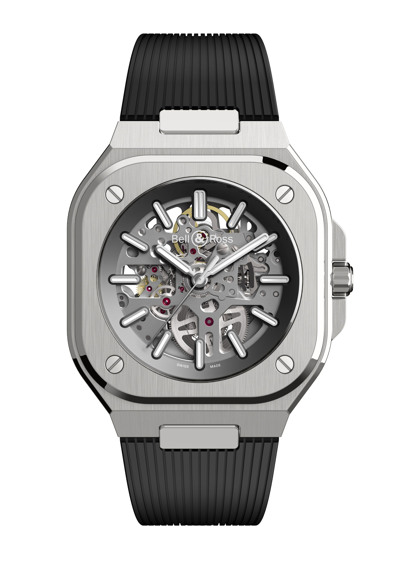 Montre Bell & Ross Nouvelle Collection BR05 Skeleton Caoutchouc