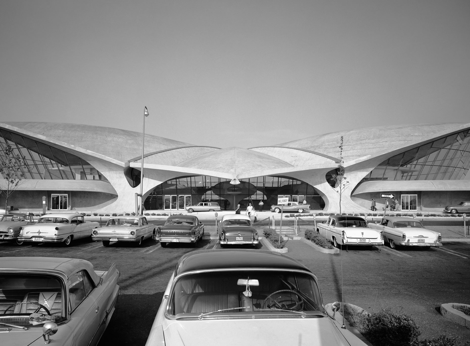 TWA Hotel New York JFK Airport TWA Flight Center Archive Vue Ensemble Ezra Stoller