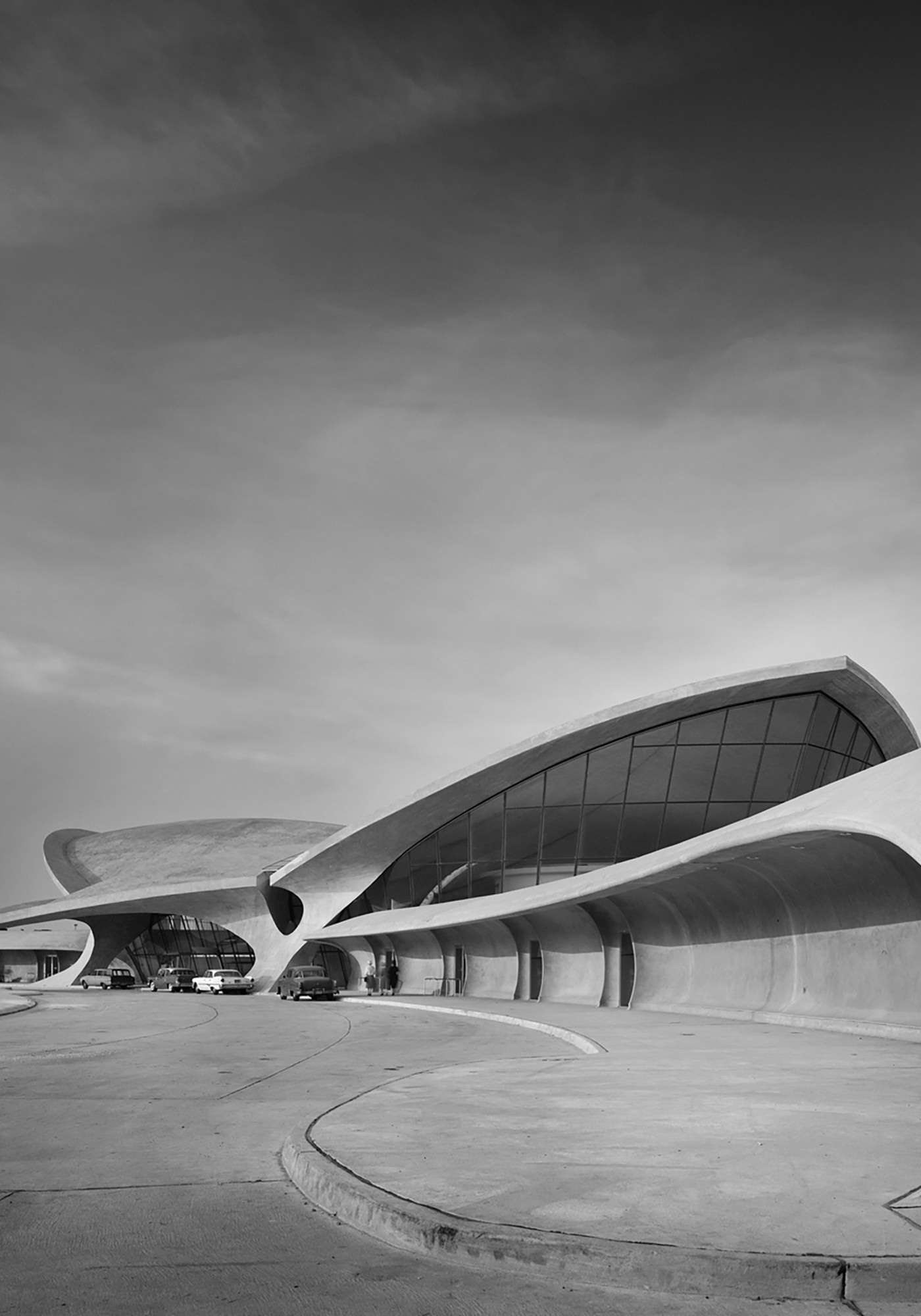 TWA Hotel New York JFK Airport TWA Flight Center Archive Vue Ensemble Ezra Stoller