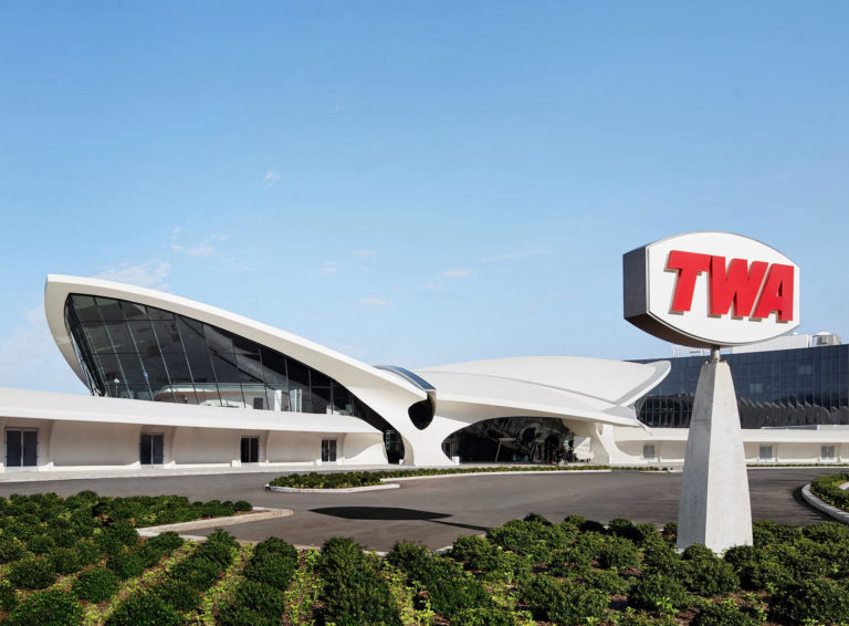 TWA Hotel New York JFK Airport TWA Flight Center Extérieur