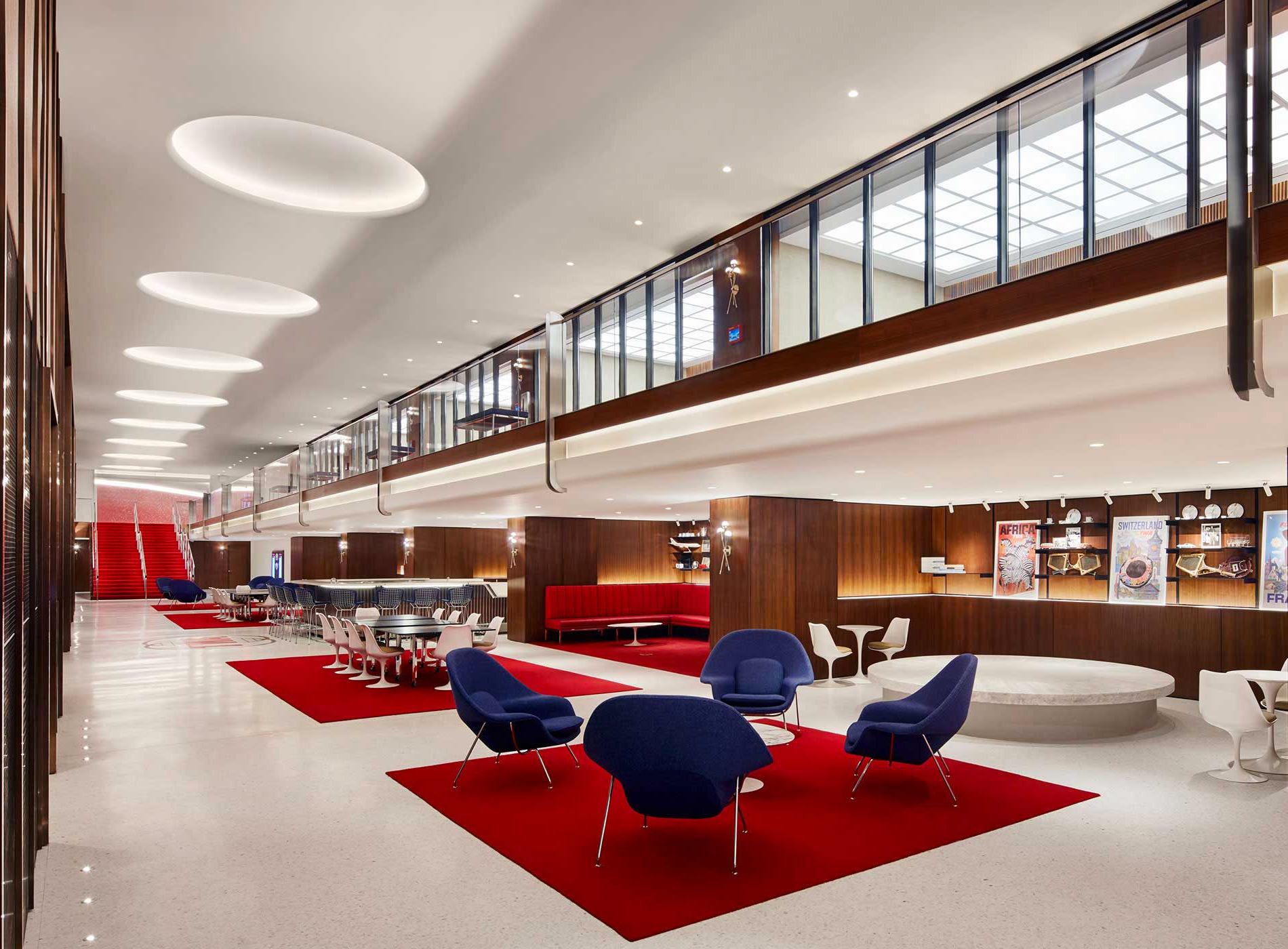 TWA Hotel New York JFK Airport TWA Flight Center Landmark Hall