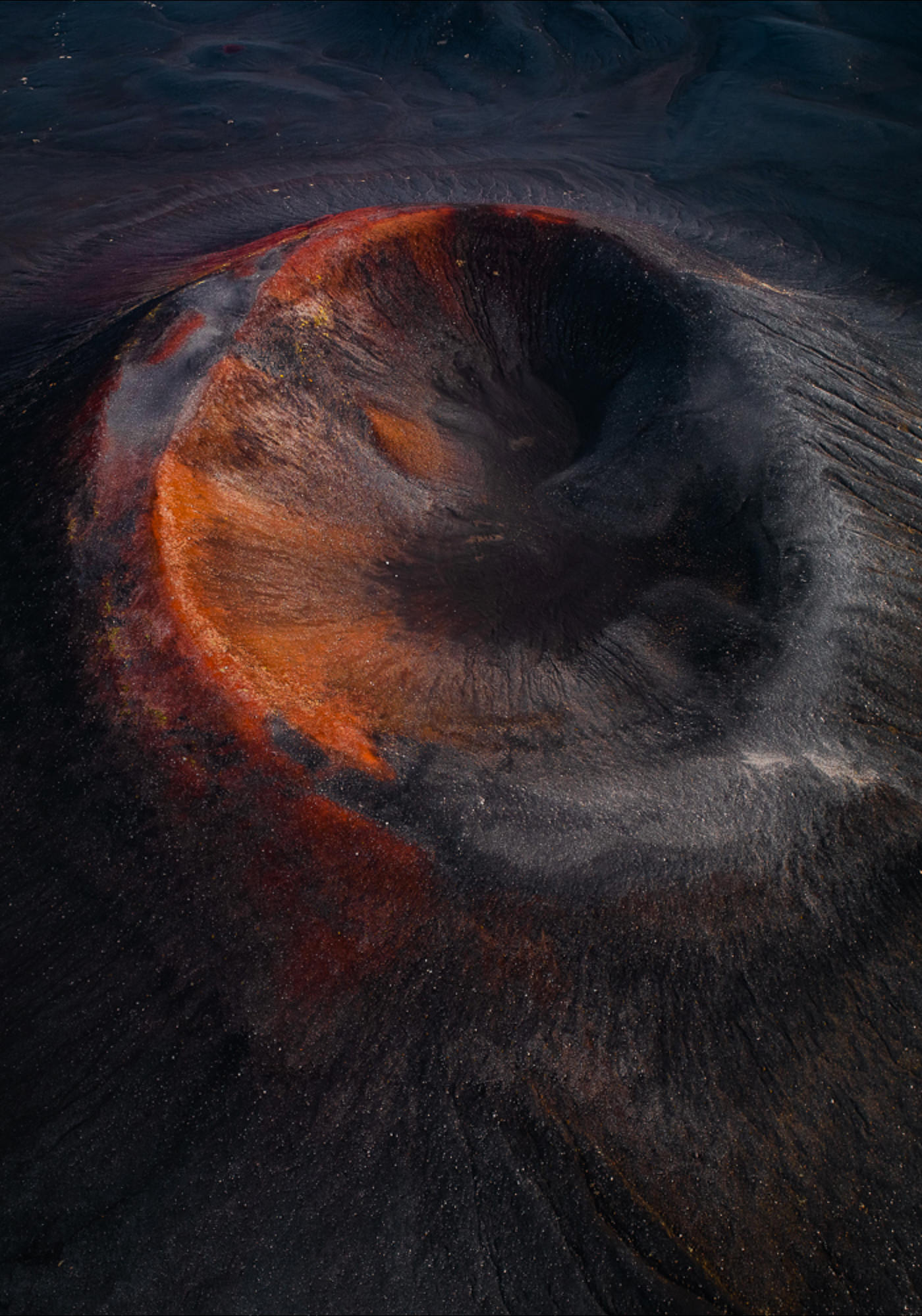 Series Tom Hegen Photographie Aérienne The Crater Series
