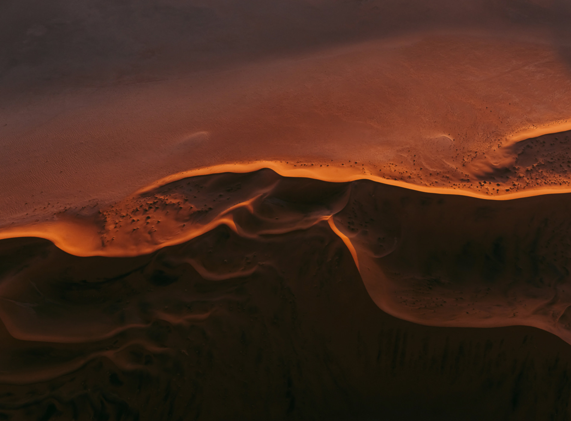 Series Tom Hegen Photographie Aérienne The Dunes Series