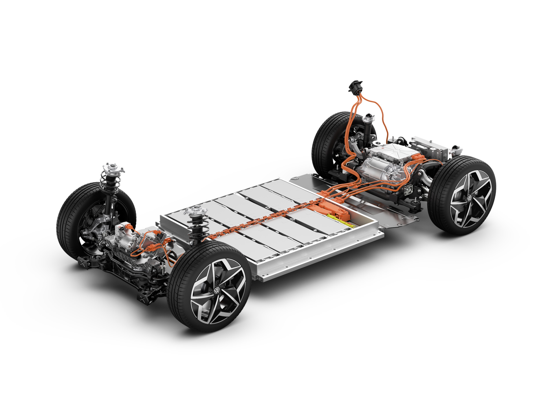 Volkswagen ID.3 Voiture Electrique Batteries Schéma