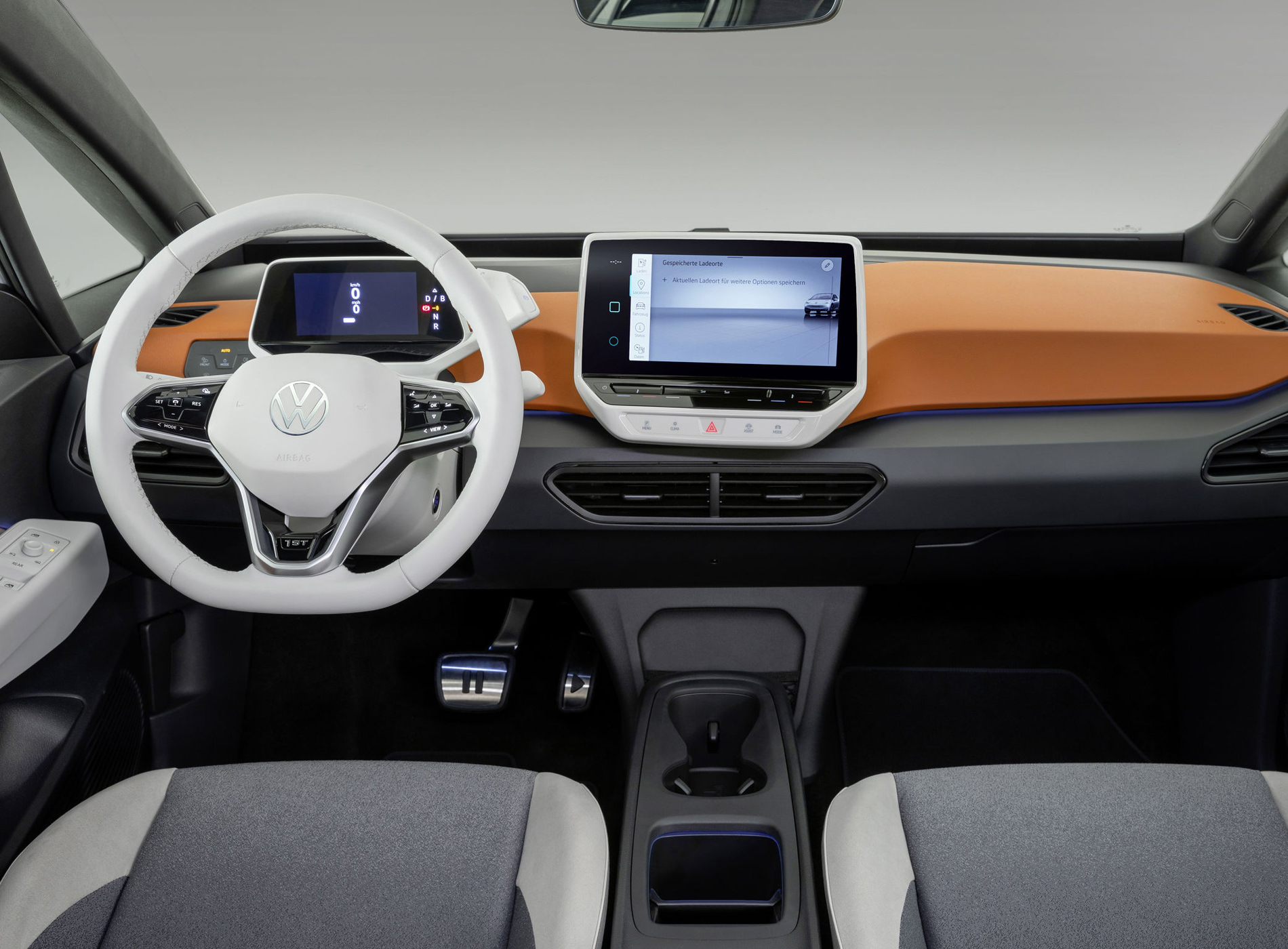 Volkswagen ID.3 Voiture Electrique Intérieur Modèle 1st