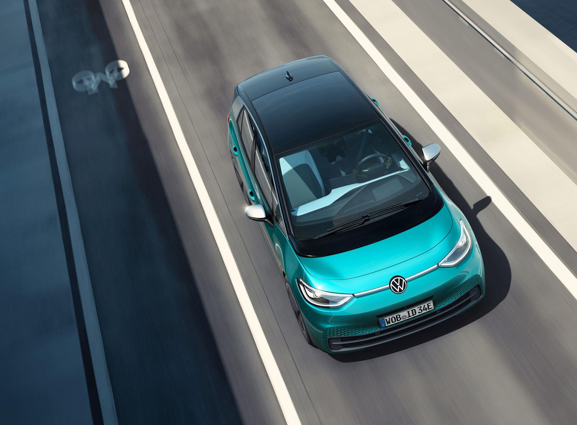 Volkswagen ID.3 Voiture Electrique Toit Panoramique