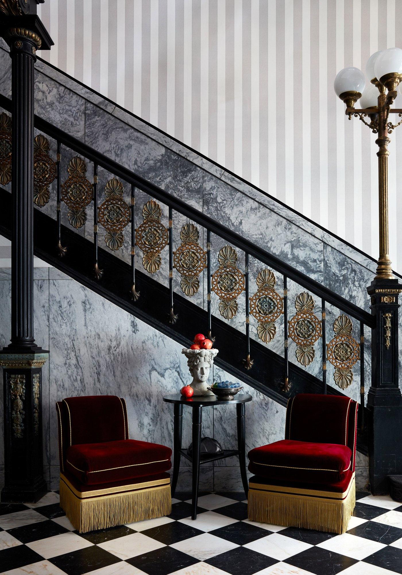 City Guide La Nouvelle-Orléans New Orleans La Maison de la Luz Ace Hotel Escalier Entrée