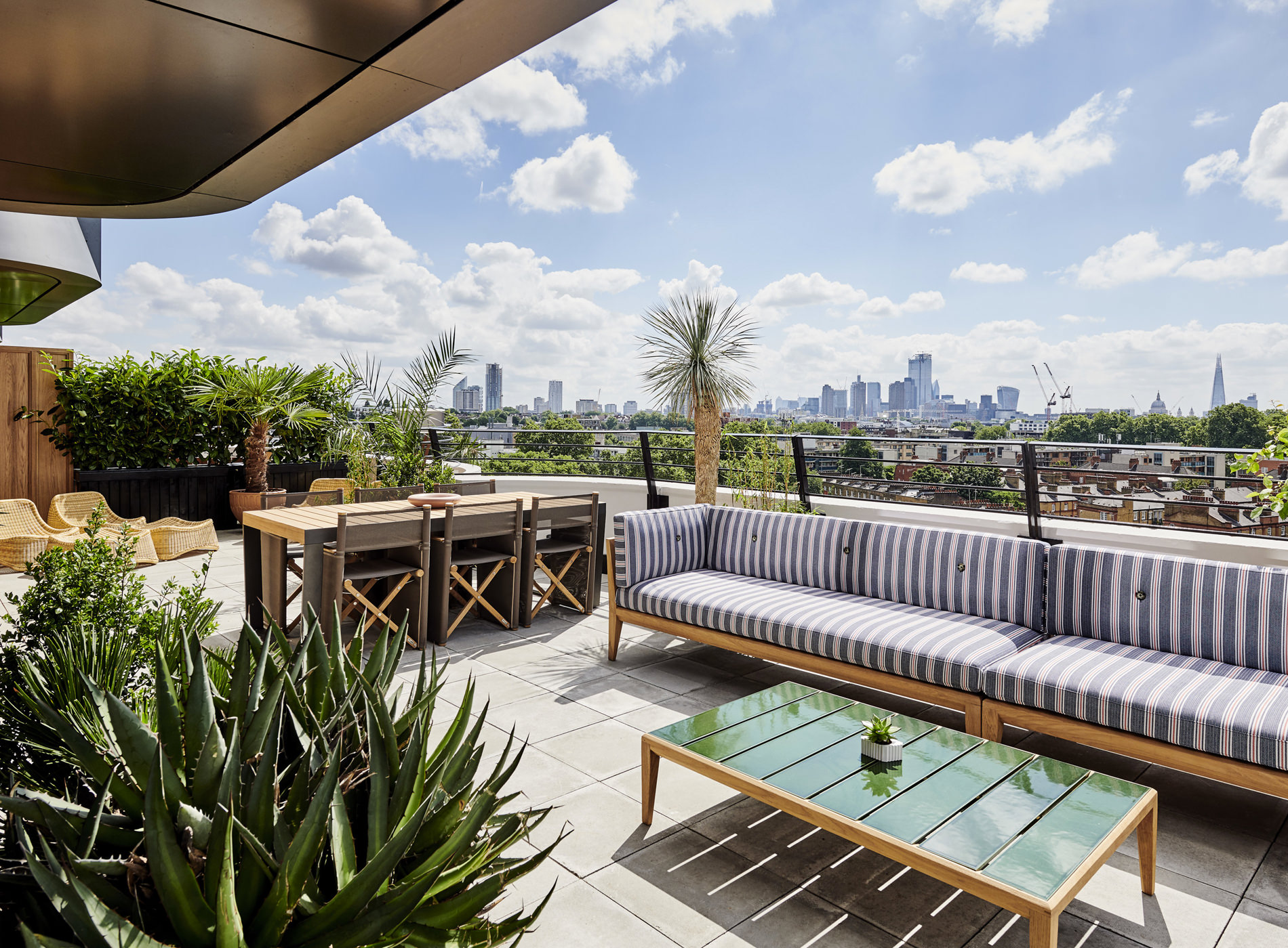 City Guide Londres London The Standard Hotel Kings Cross St. Pancras Suite Terrace