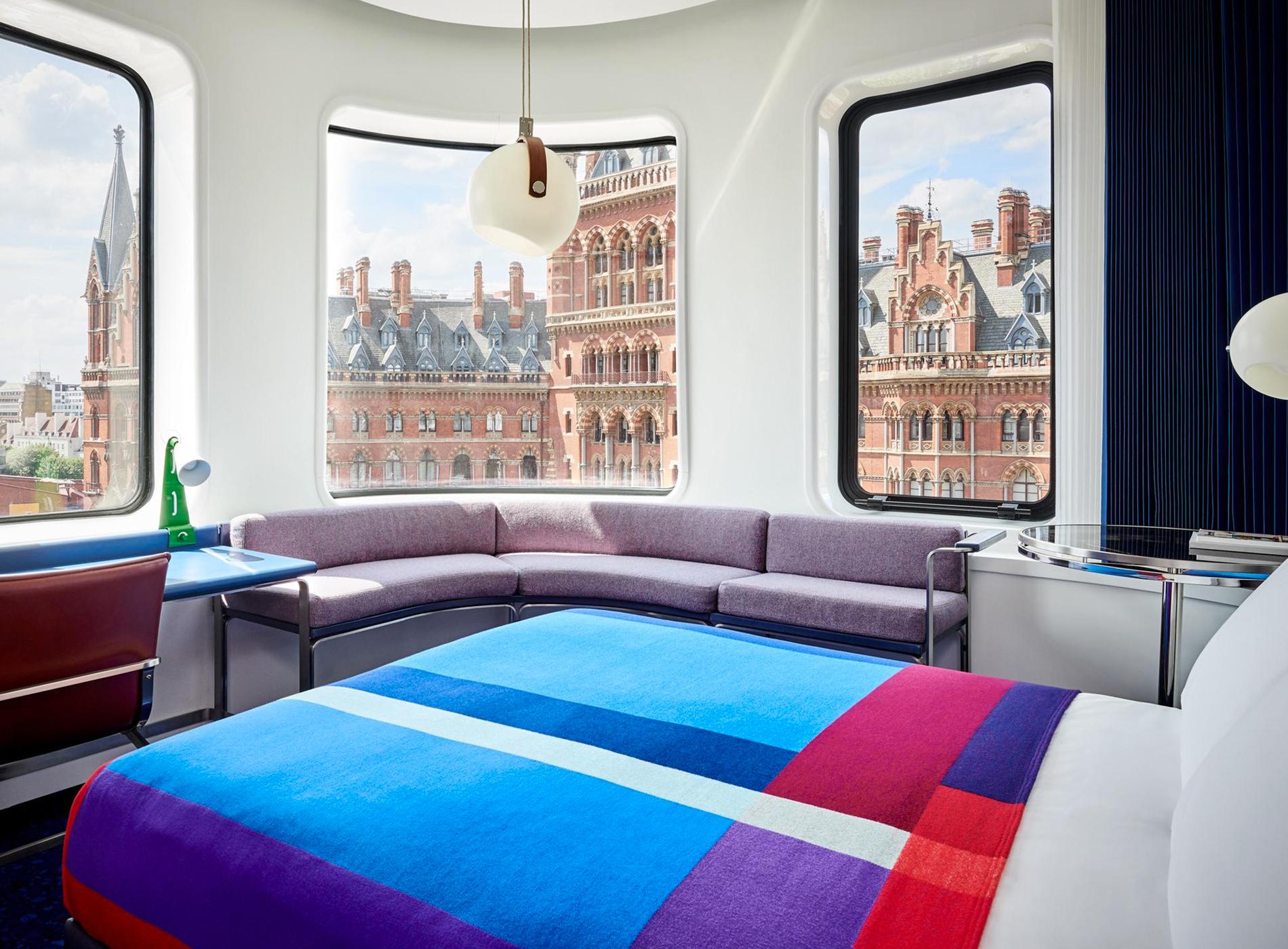 City Guide Londres London The Standard Hotel Kings Cross St. Pancras Suite Détails