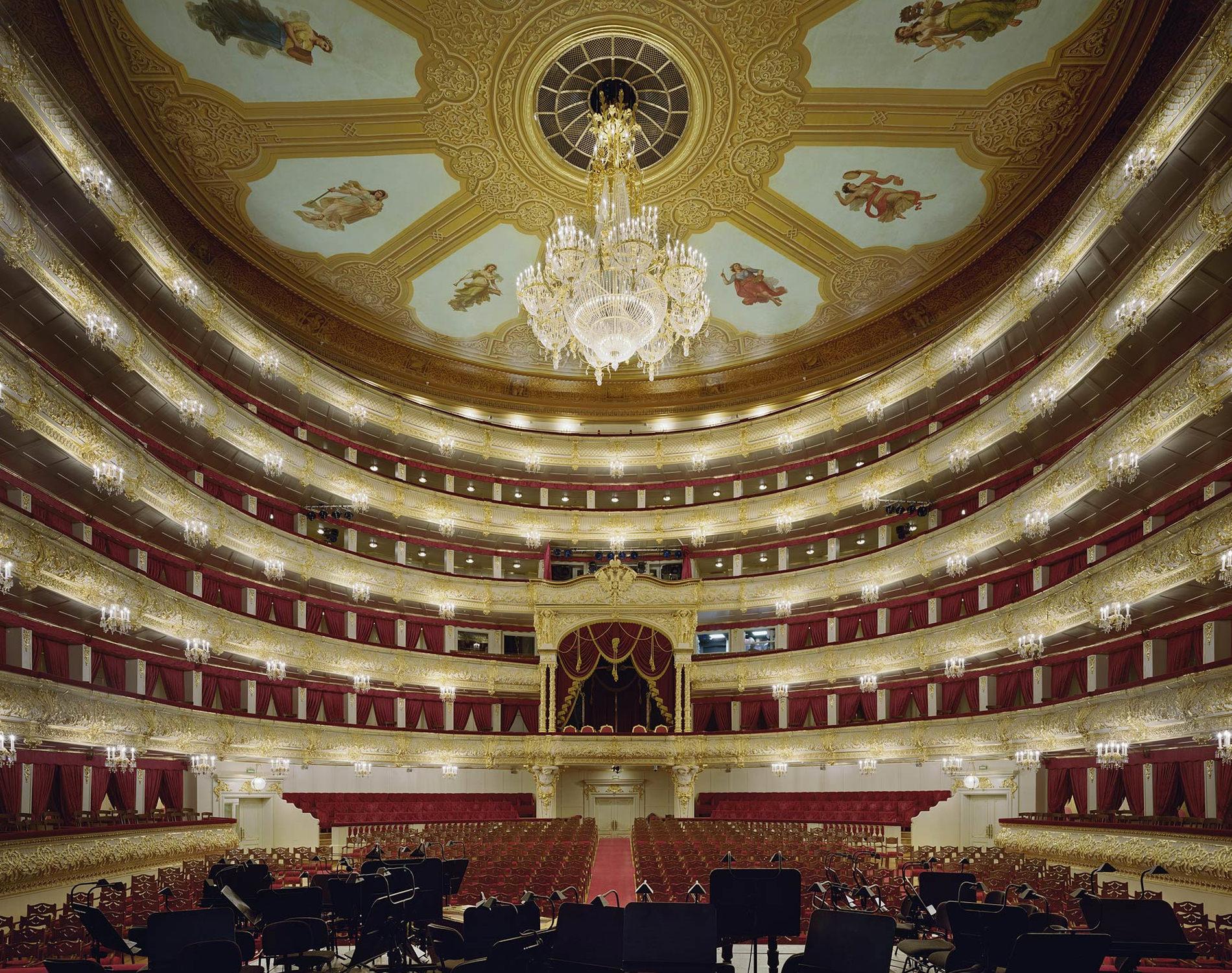 Opera Bolshoi Theatre Moscou Russie 2011