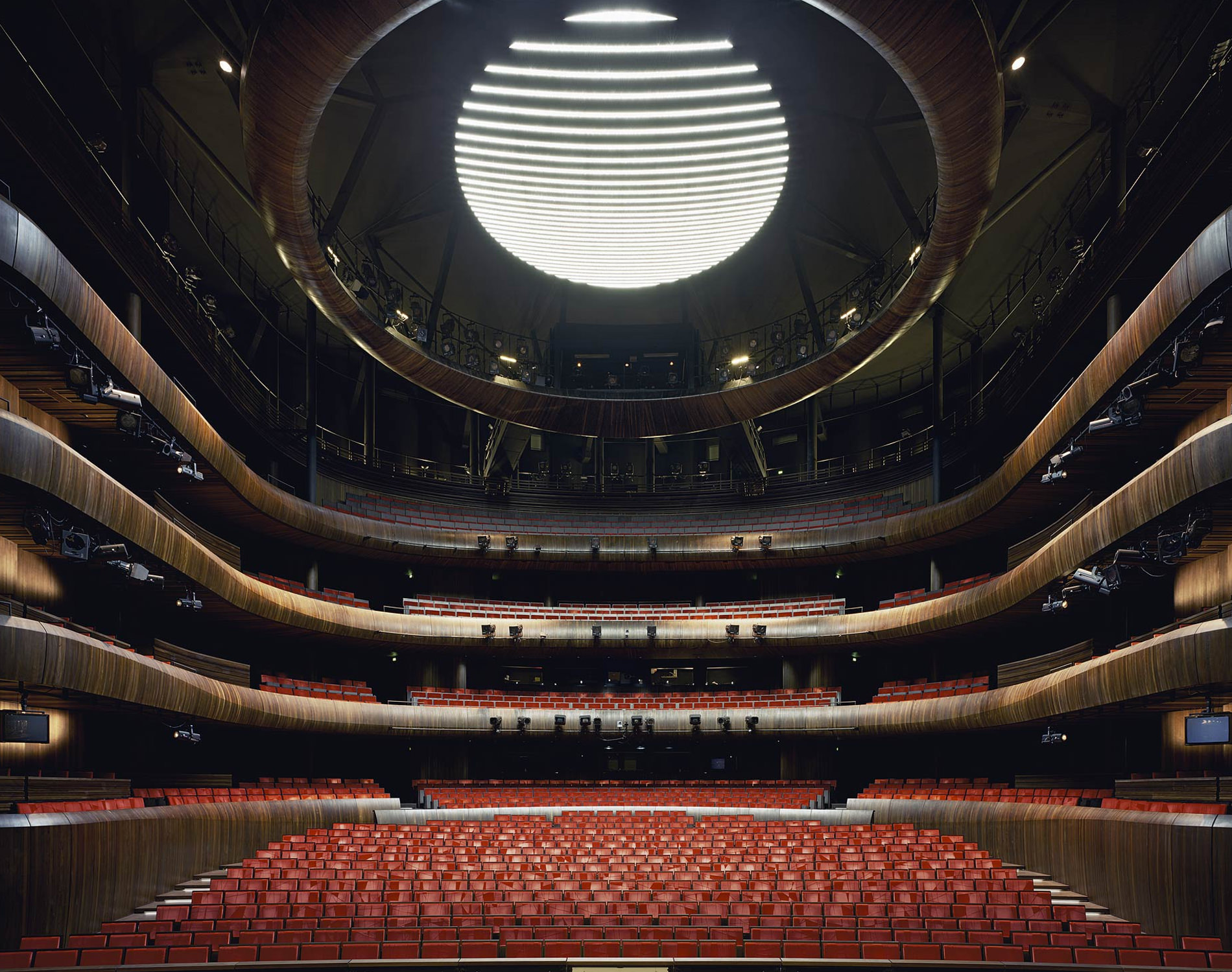 Opera Den Norske Opera Og Ballet Oslo Norway 2008