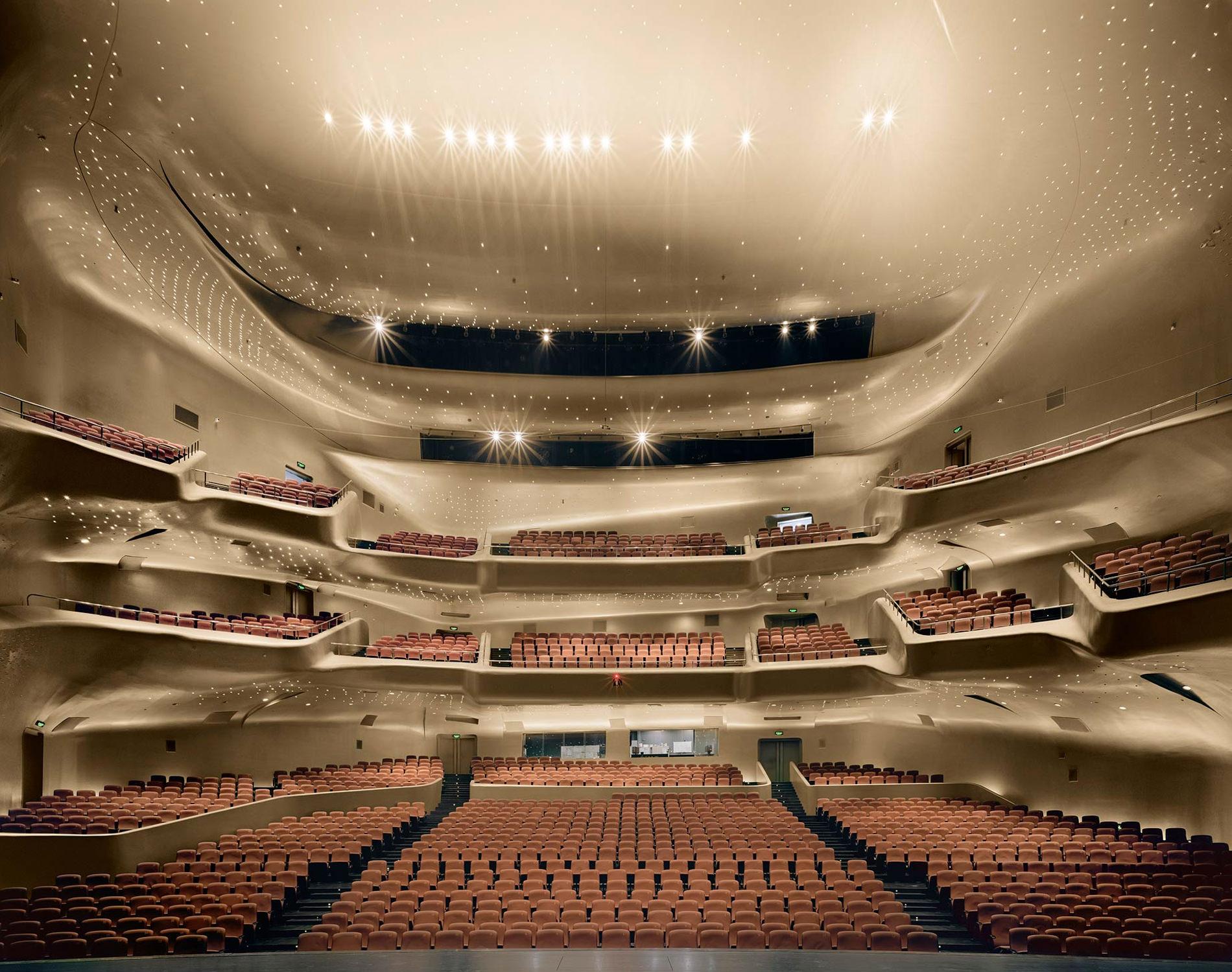 Opera Guangzhou Opera House Guangzhou Chine 2014