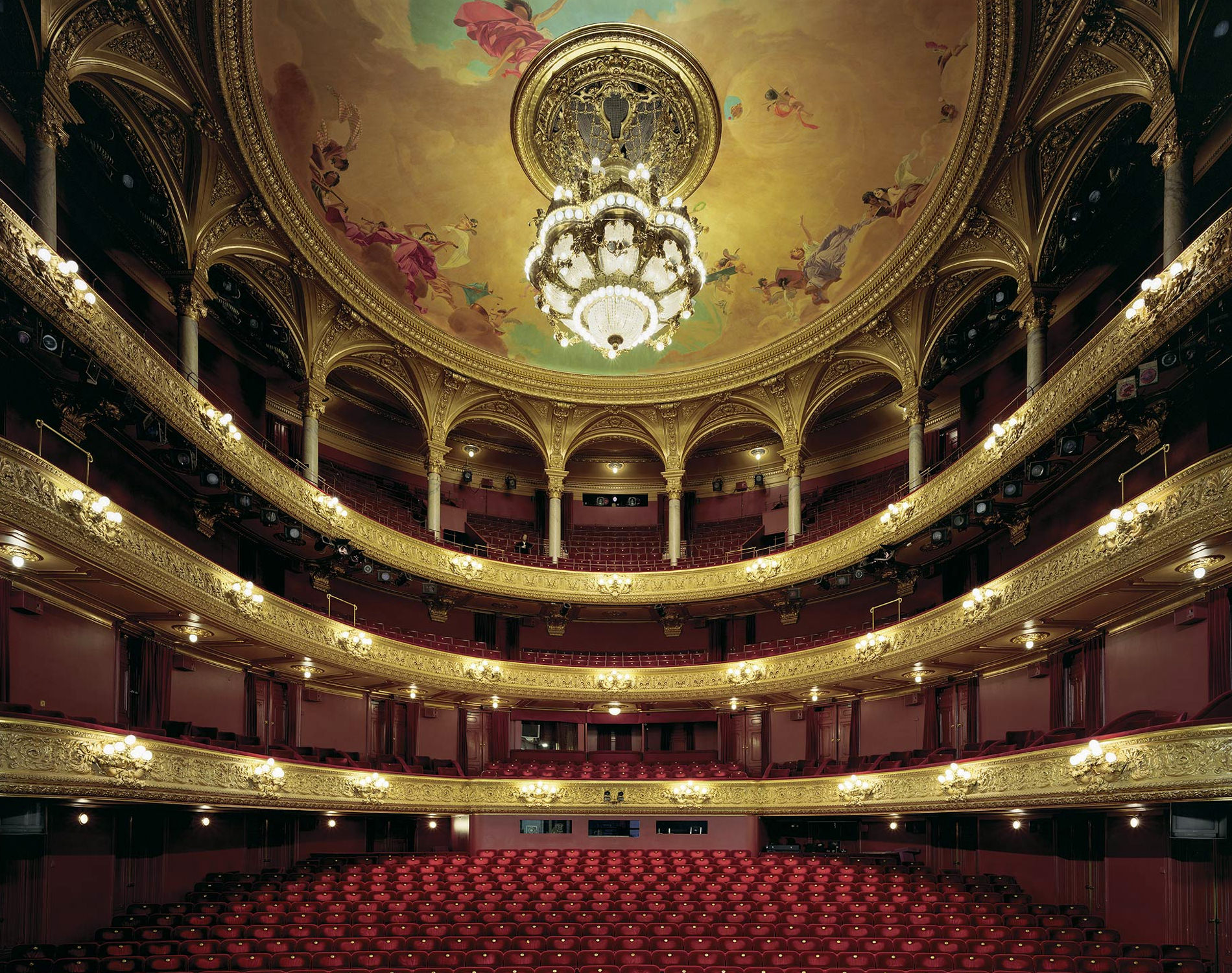 David Leventi Serie Photographie Opera Kungliga Operan Stockholm Suède 2008