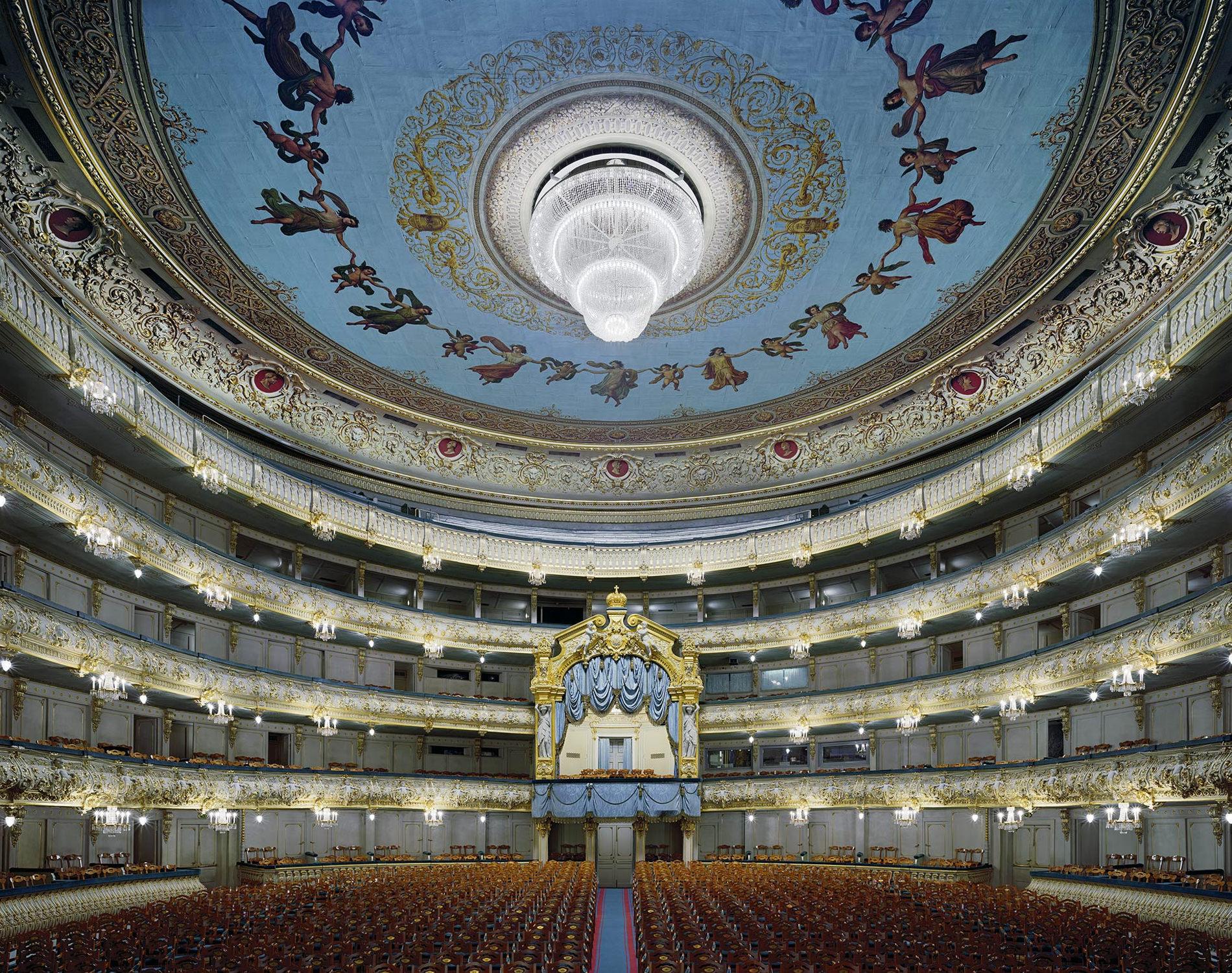 Opera Mariinsky Théâtre Saint-Petersbourg Russie 2009