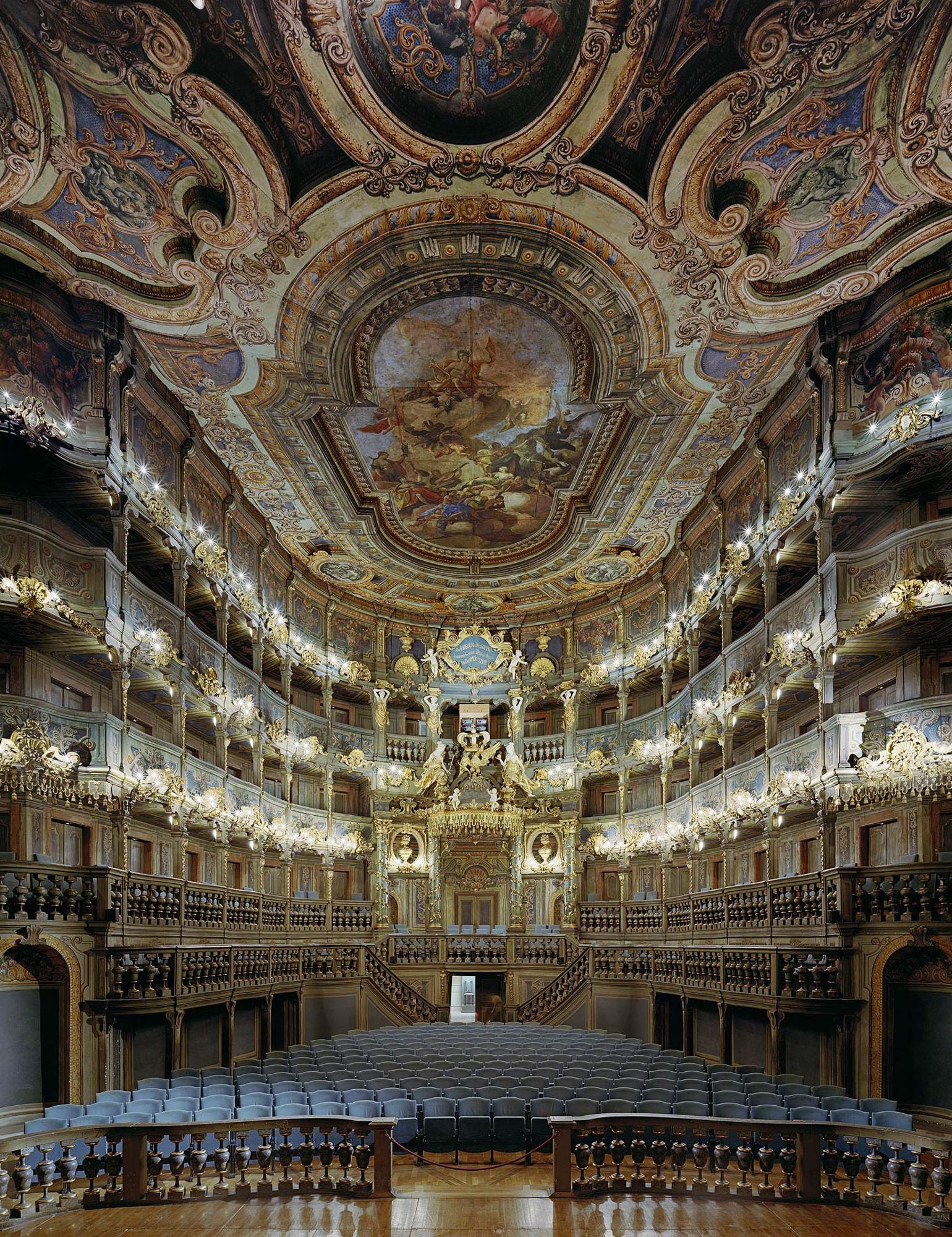 Opera Markgrafliches Opernhaus Bayreuth Allemagne 2008
