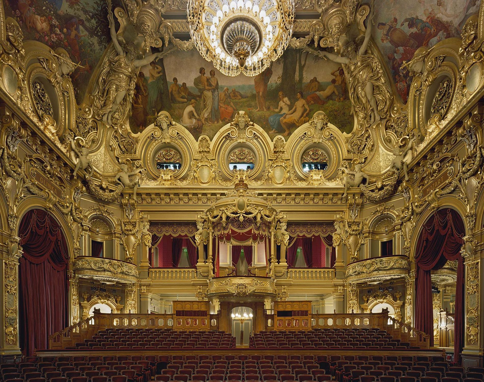 David Leventi Serie Photographie Opera Monte-Carlo Monaco 2009