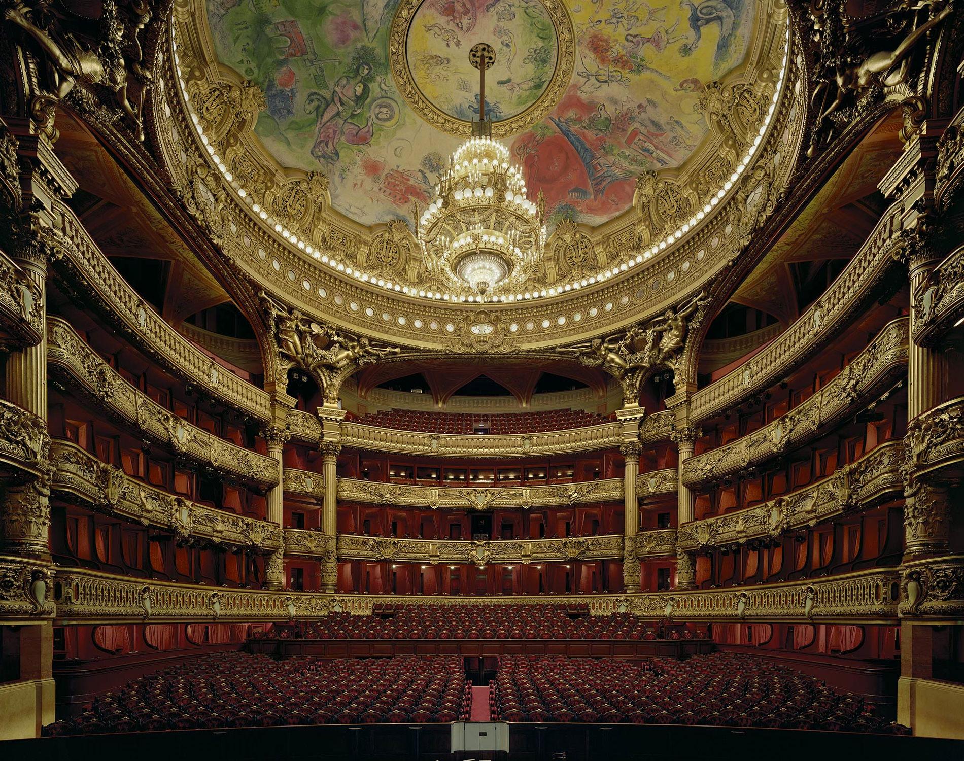 David Leventi Serie-Photographie Opéra Palais Garnier Paris France 2009