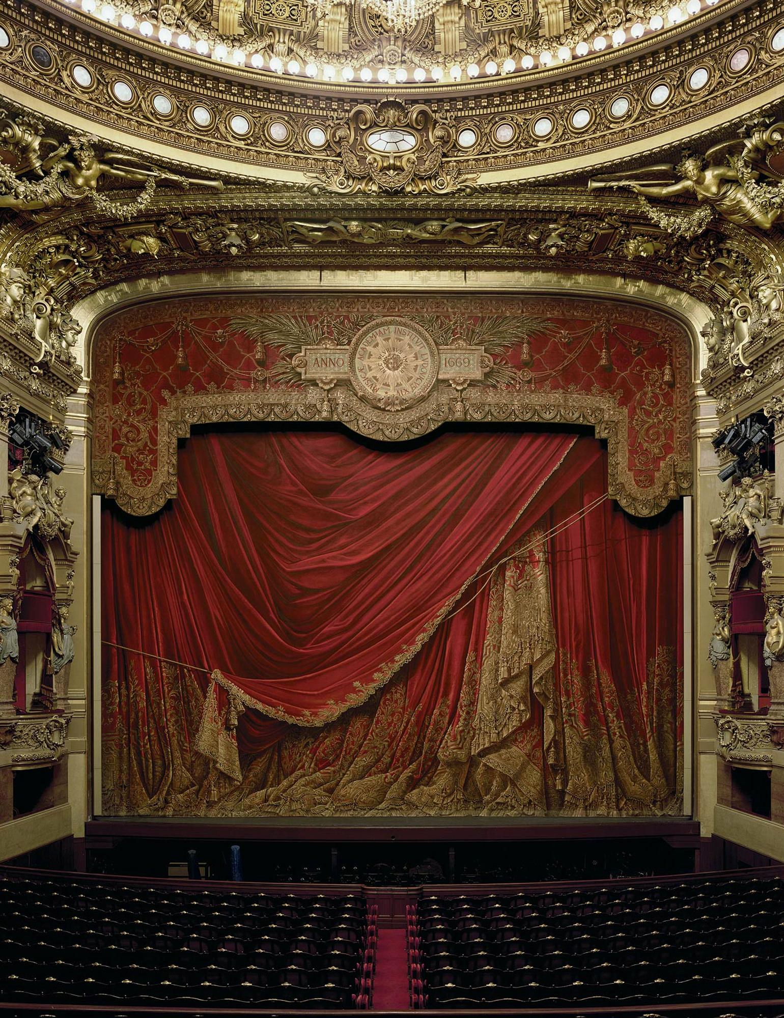 Palais Garnier Paris France 2009