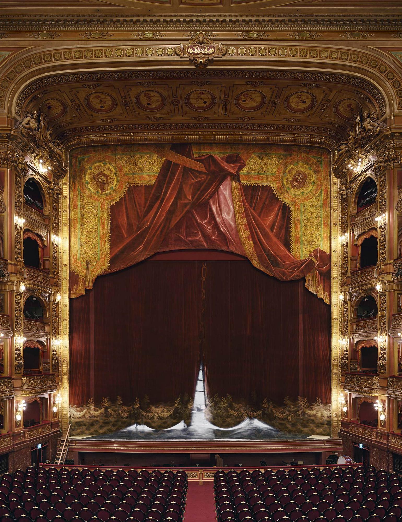 Opera Rideau Teatro Colon Buenos Aires Argentine 2010