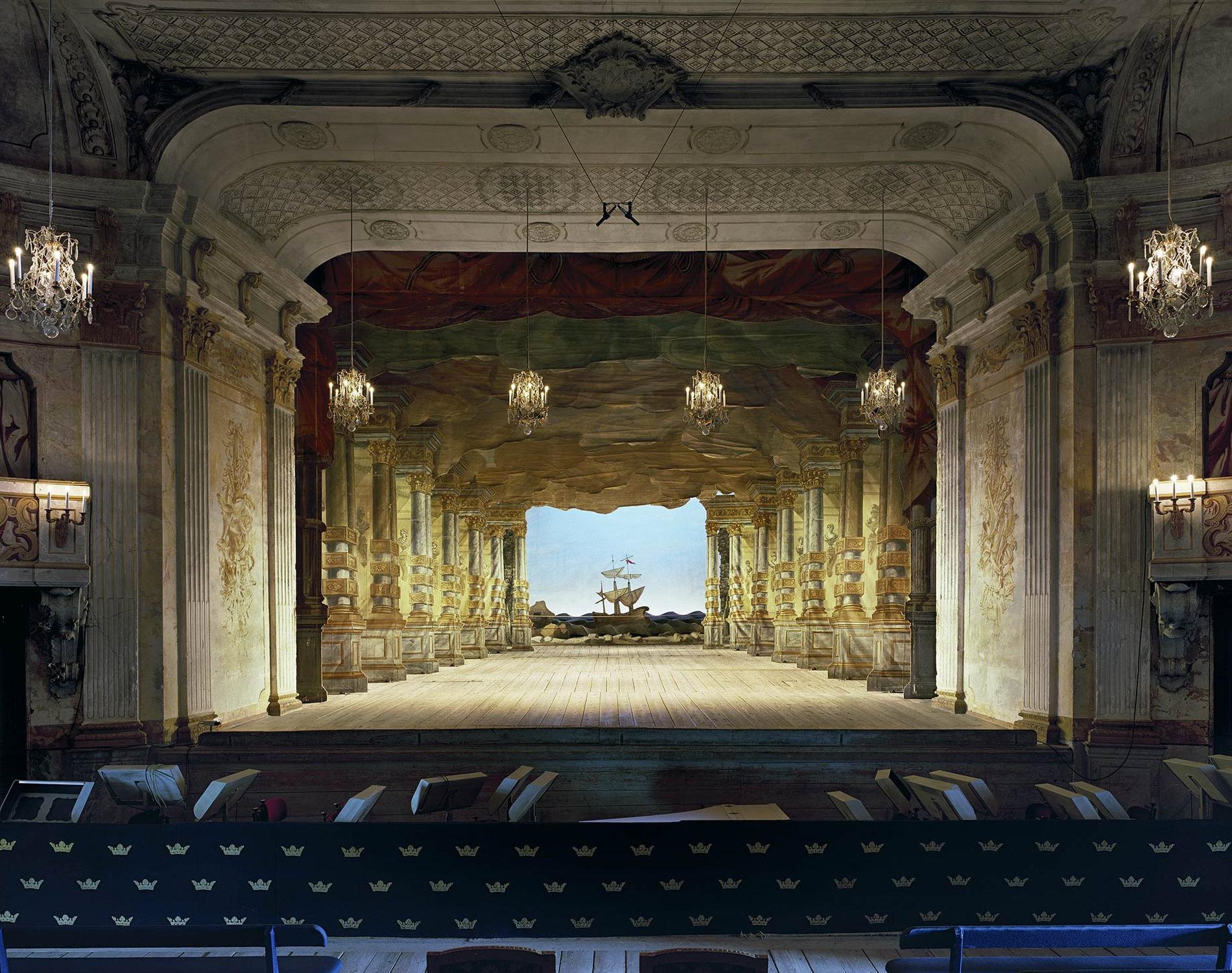 Opera Slottsteater Drottningholm Suède 2008