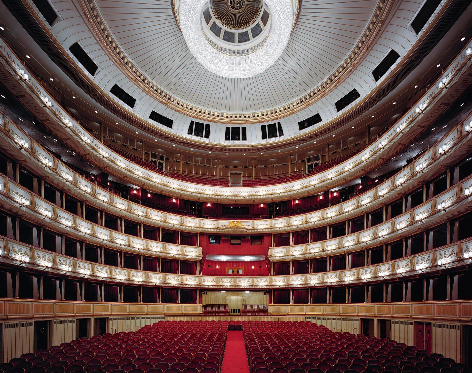David Leventi Série Photographie Opera Staatsoper Vienne Autriche 2009