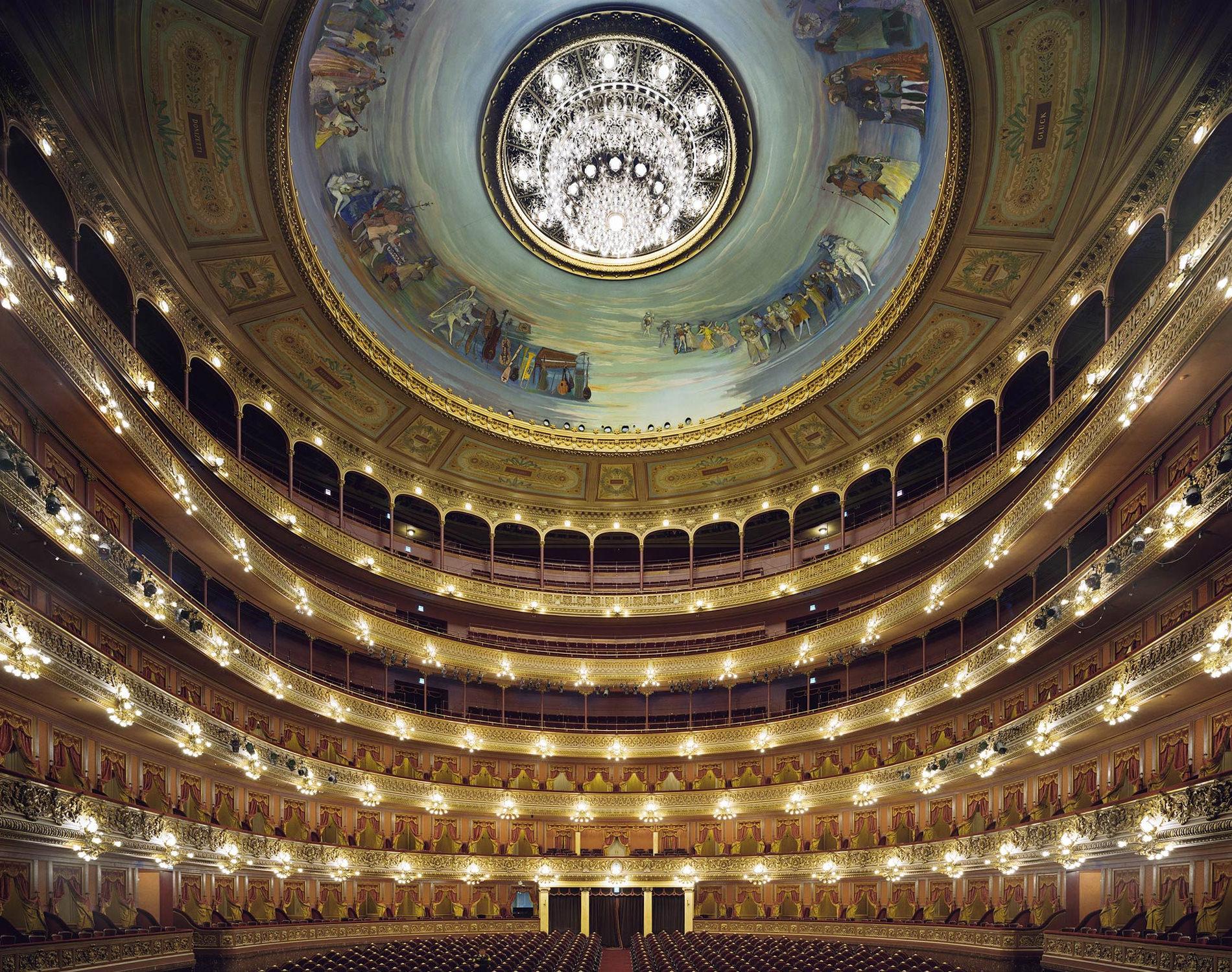 Opera Teatro Colon Buenos Aires Argentine 2010
