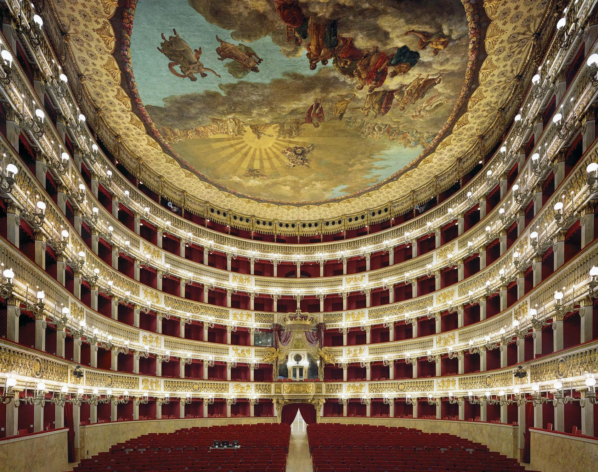 David Leventi Serie Photographie Opera Teatro Di Carlo Naples Italie 2009