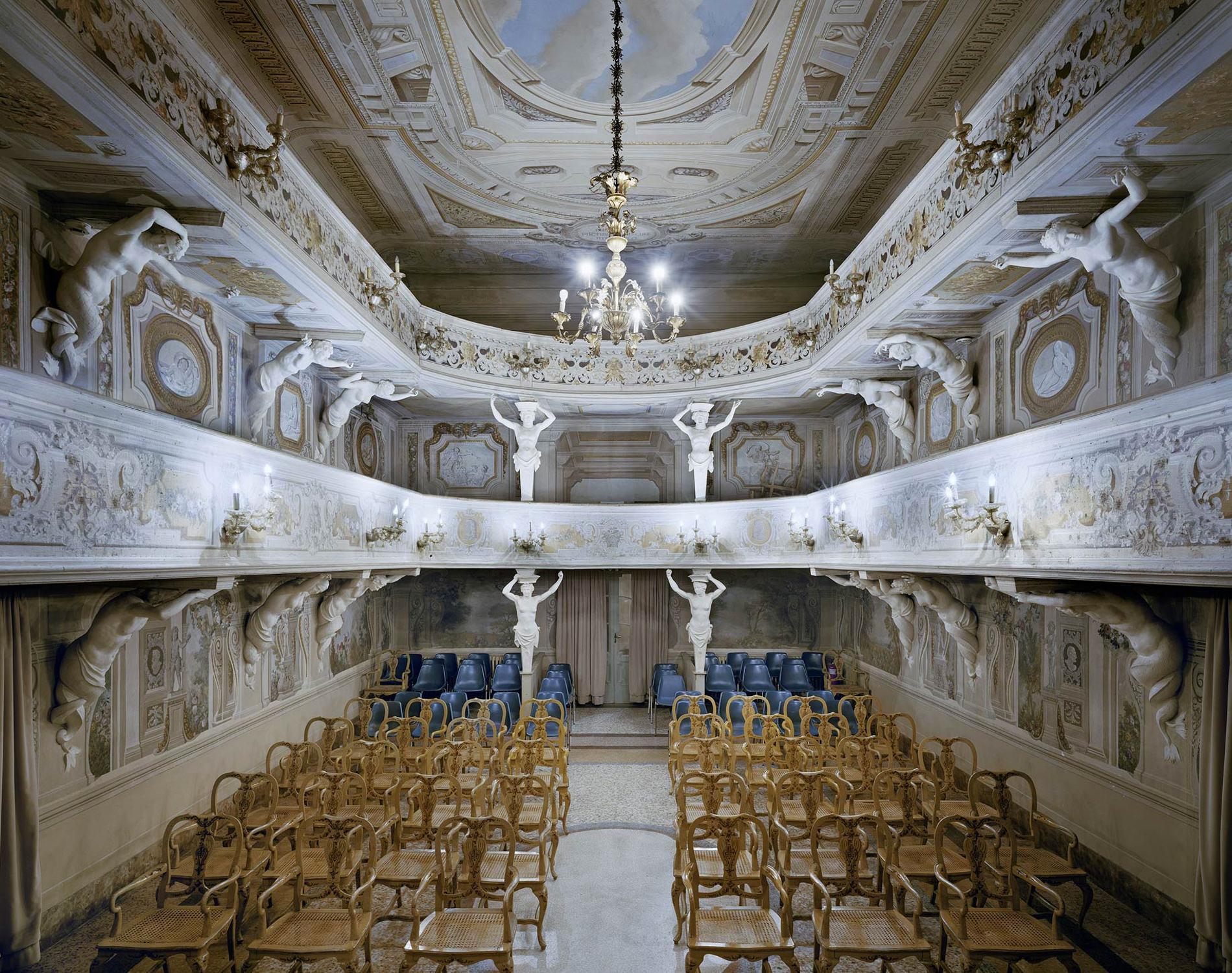 Opéra Teatro Di Villa Aldrovandi Mazzacorati Bologne Italie 2014