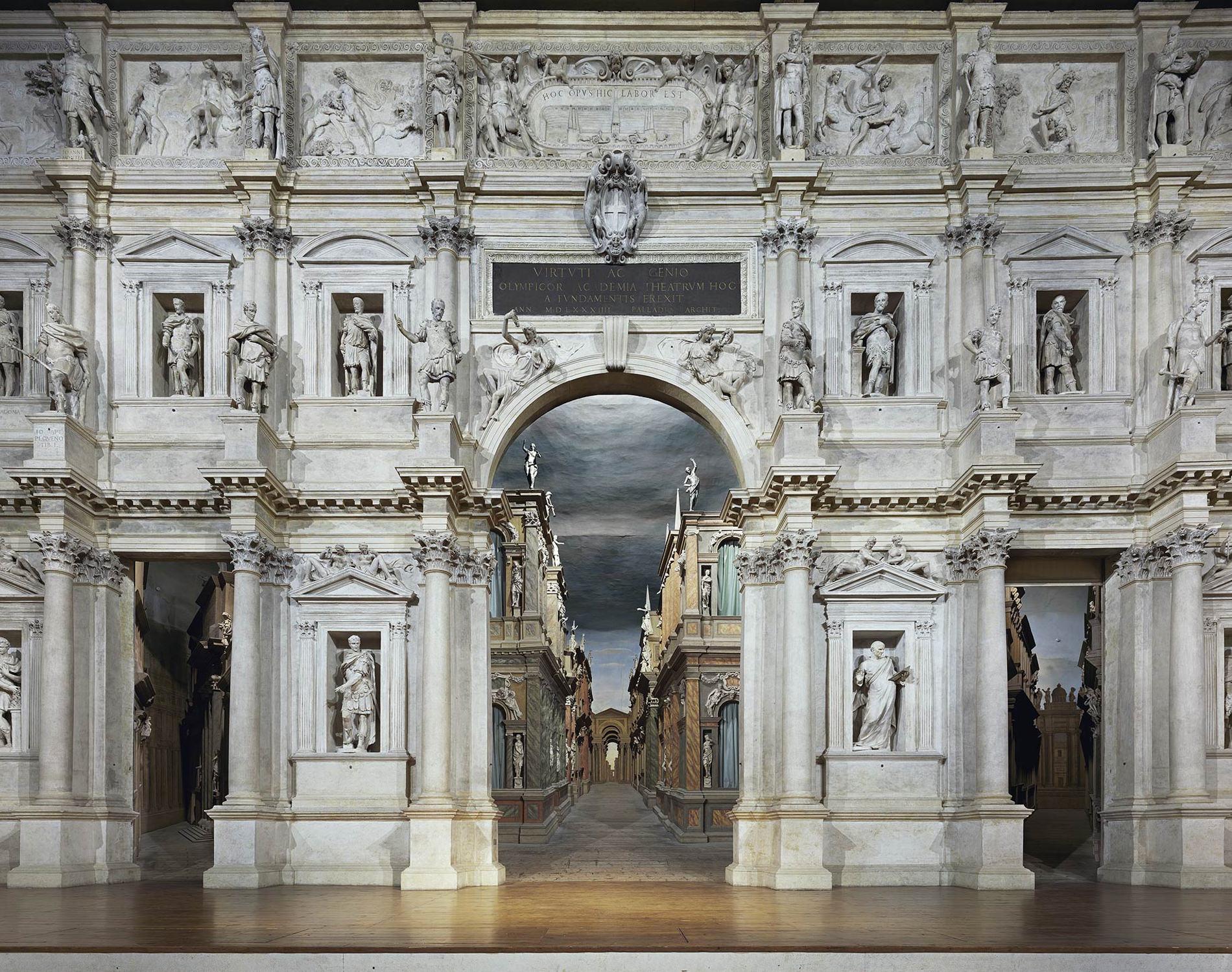 Opera Teatro Olimpico Venise Italie 2010