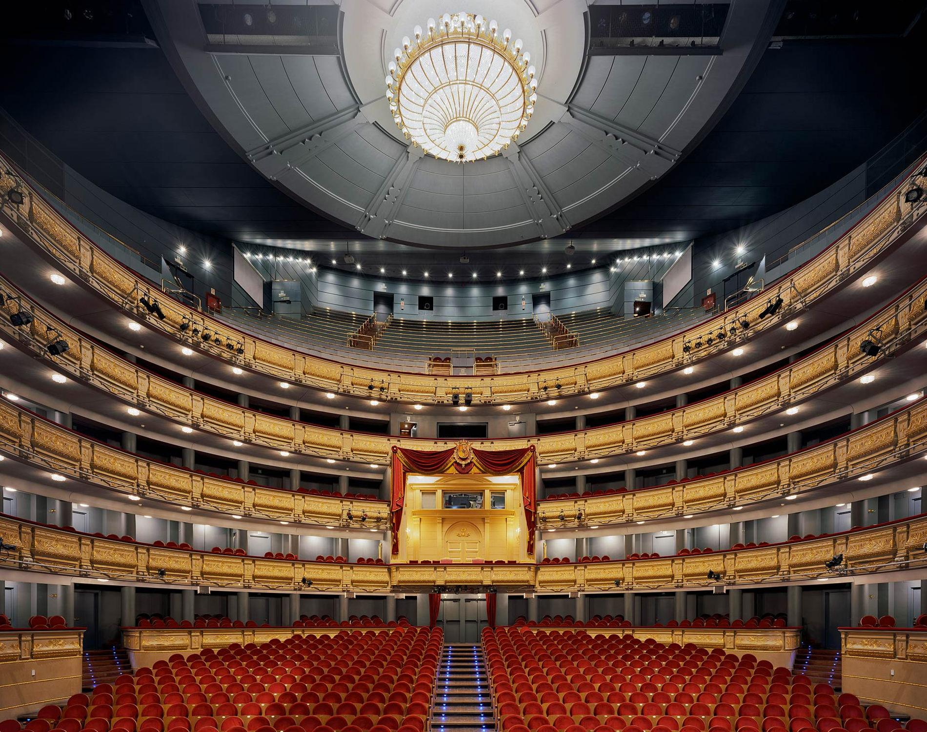 David Leventi Serie Photographie Opera Teatro Real Madrid Espagne 2009