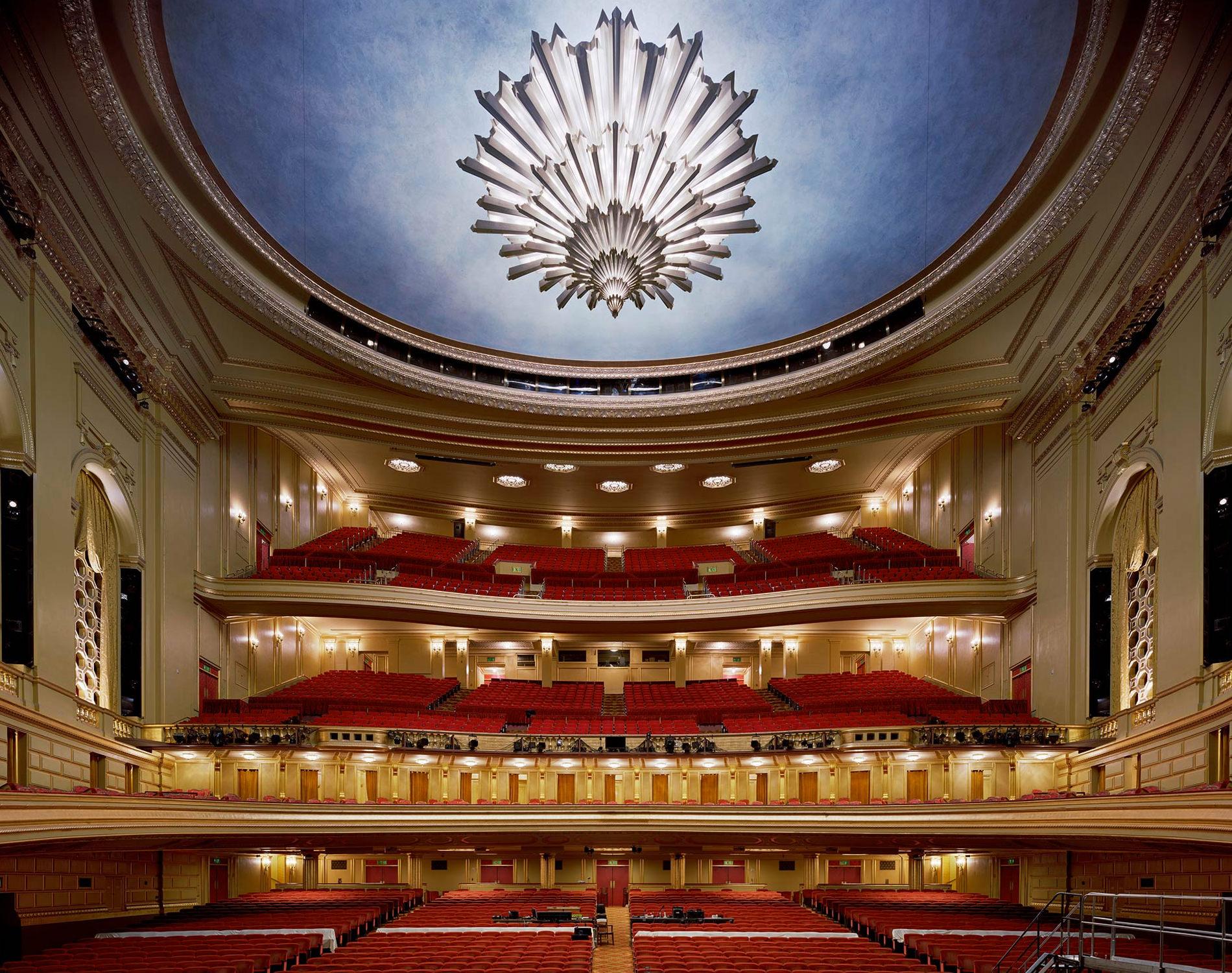 David Leventi Serie Photographie Opera War Memorial Opera House San Francisco Etats-Unis 2009