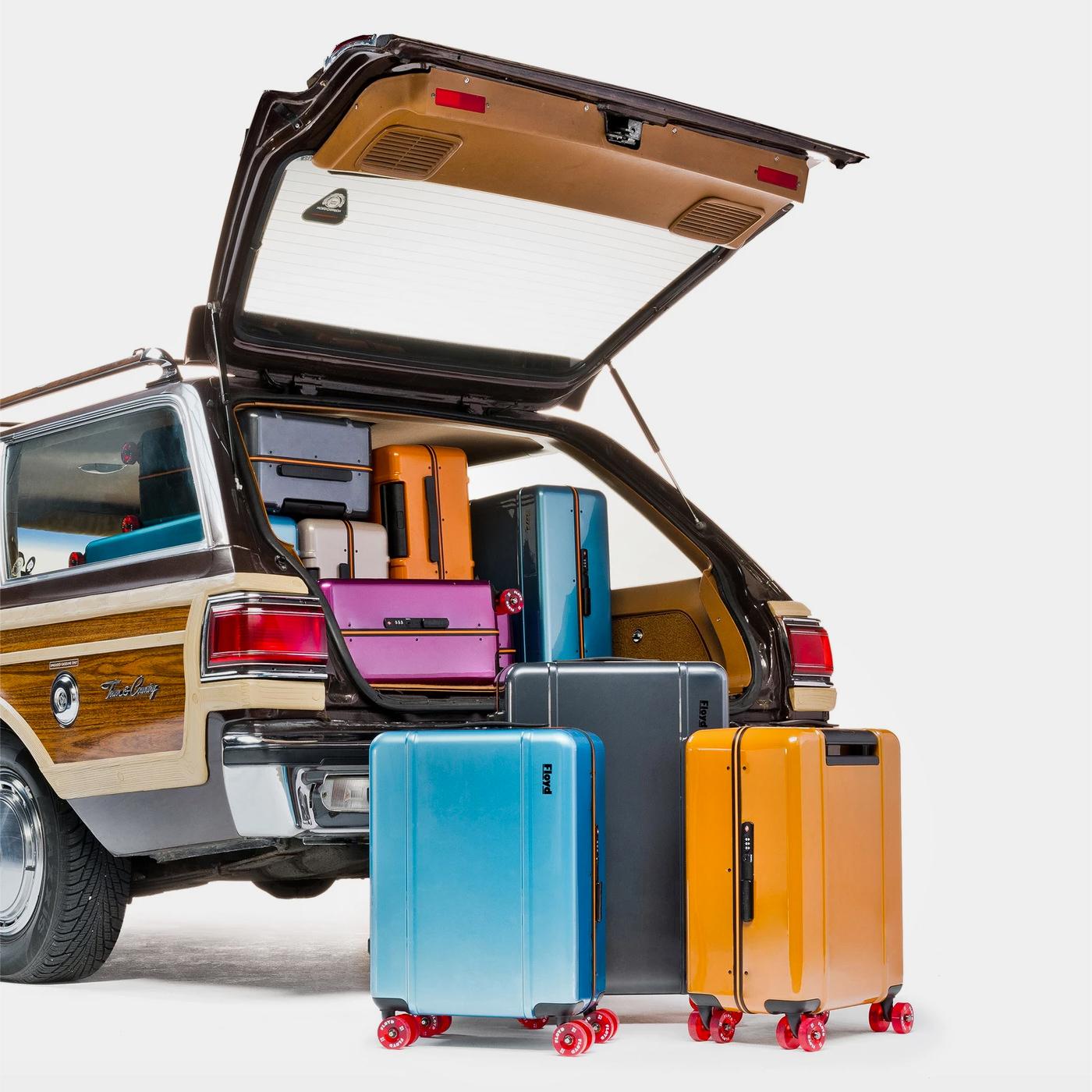 Floyd Valises Travel Case Cabin Check-In Inspiration Californie Venice Beach Skate Culture