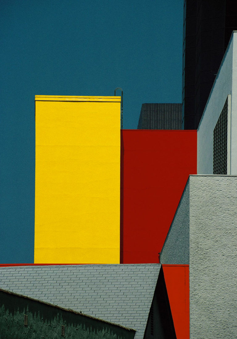 Franco Fontana Photographie Los Angeles 1991
