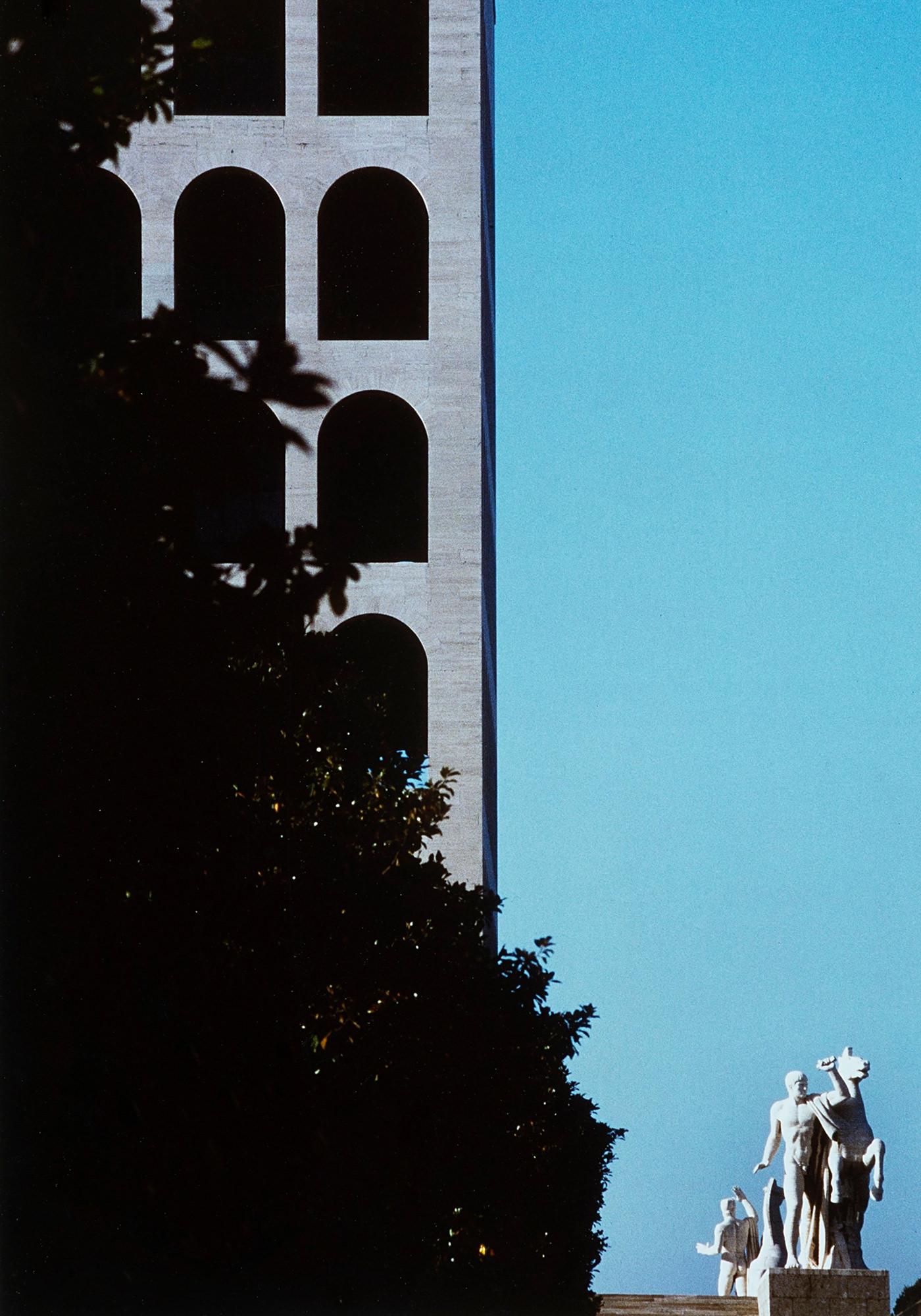 Franco Fontana Photographie Roma 1980