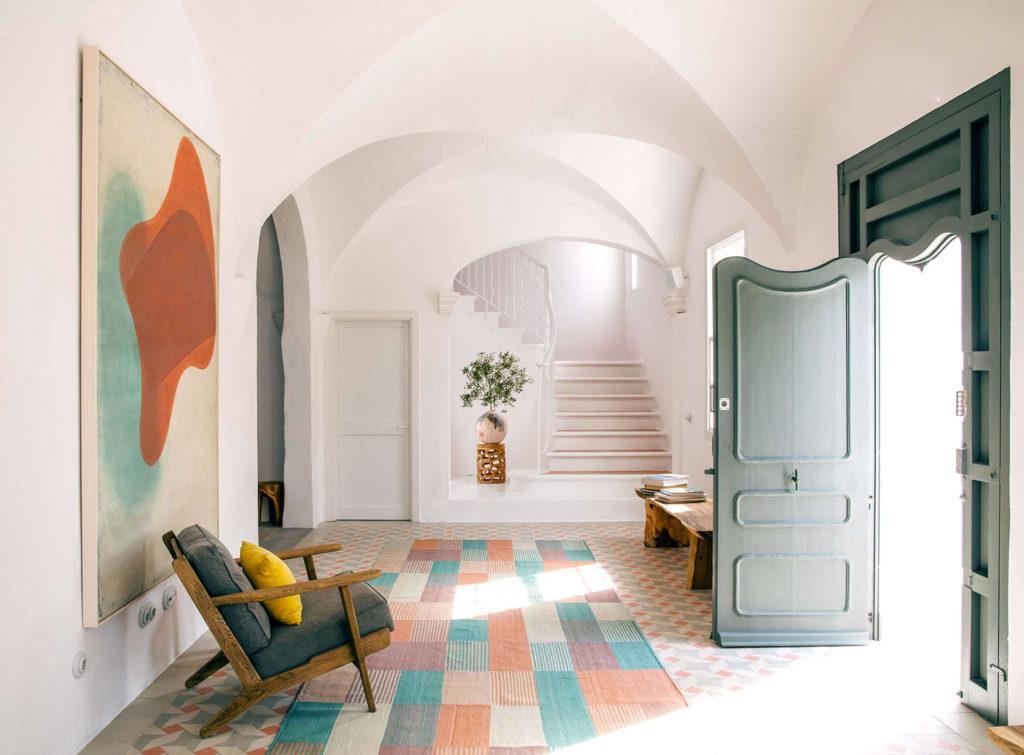 Minorque Baléares Espagne Architecture Location Vacances Es Bec D'Aguila Détails Intérieurs
