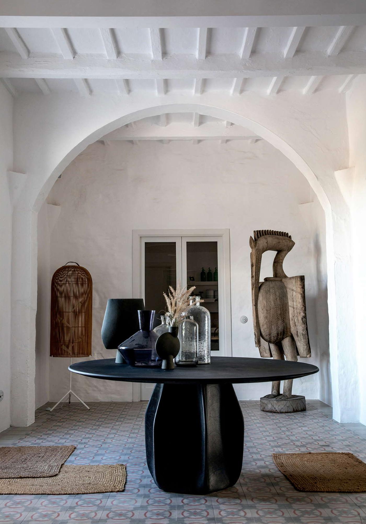 Minorque Baléares Espagne Architecture Location Vacances Es Bec D'Aguila Œuvres d'Art