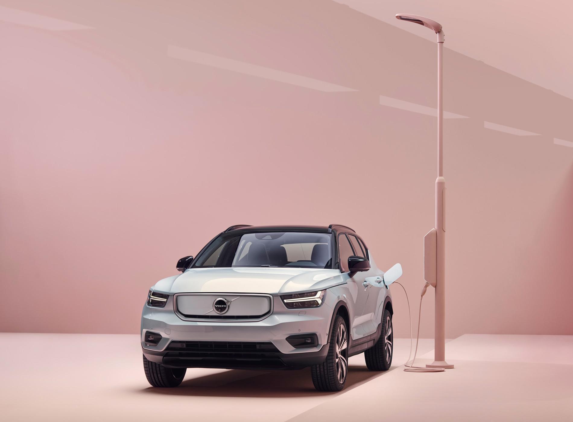 Volvo CX40 Recharge Voiture Electrique Inspiration Avant