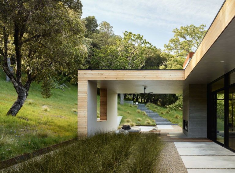 Carmel Valley House Santa Lucia Preserve Californie Architecture
