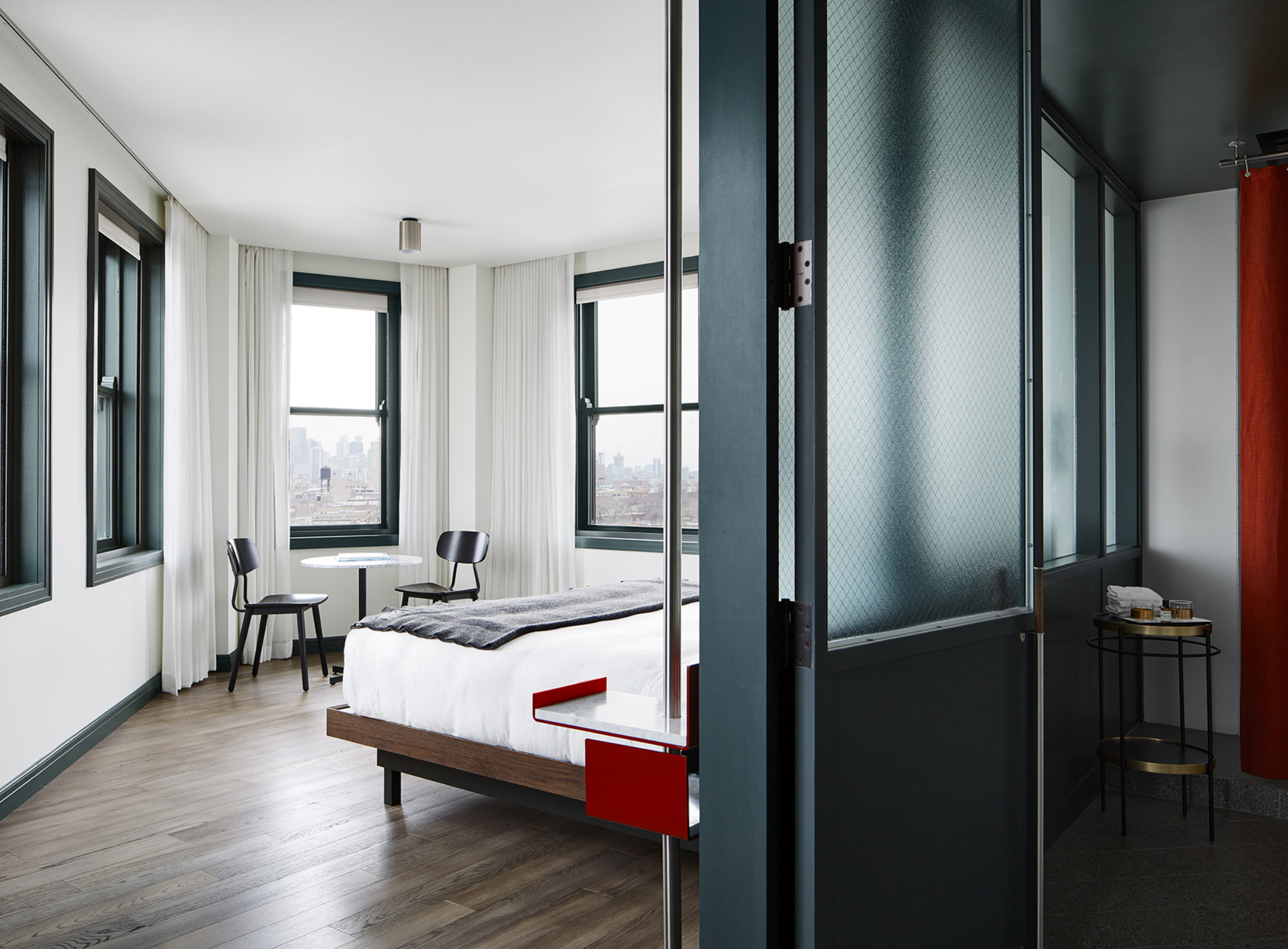 City Guide Chicago The Robey Hotel Chambre Corner Suite