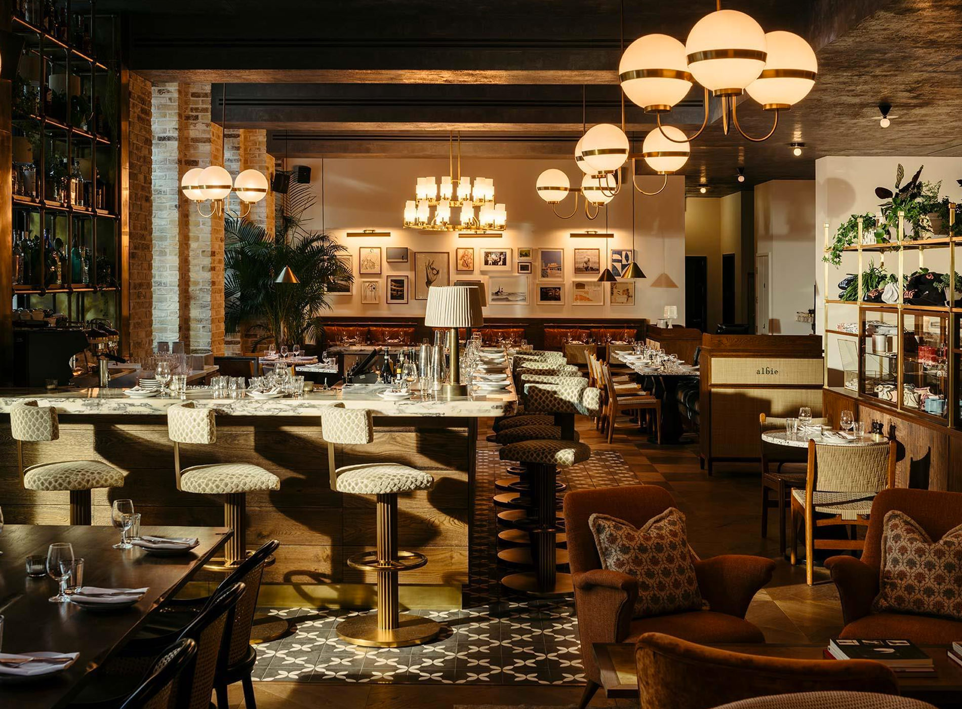 City Guide Londres The Hoxton Southwark Hotel Blackfriars Road London Albie Restaurant Diner