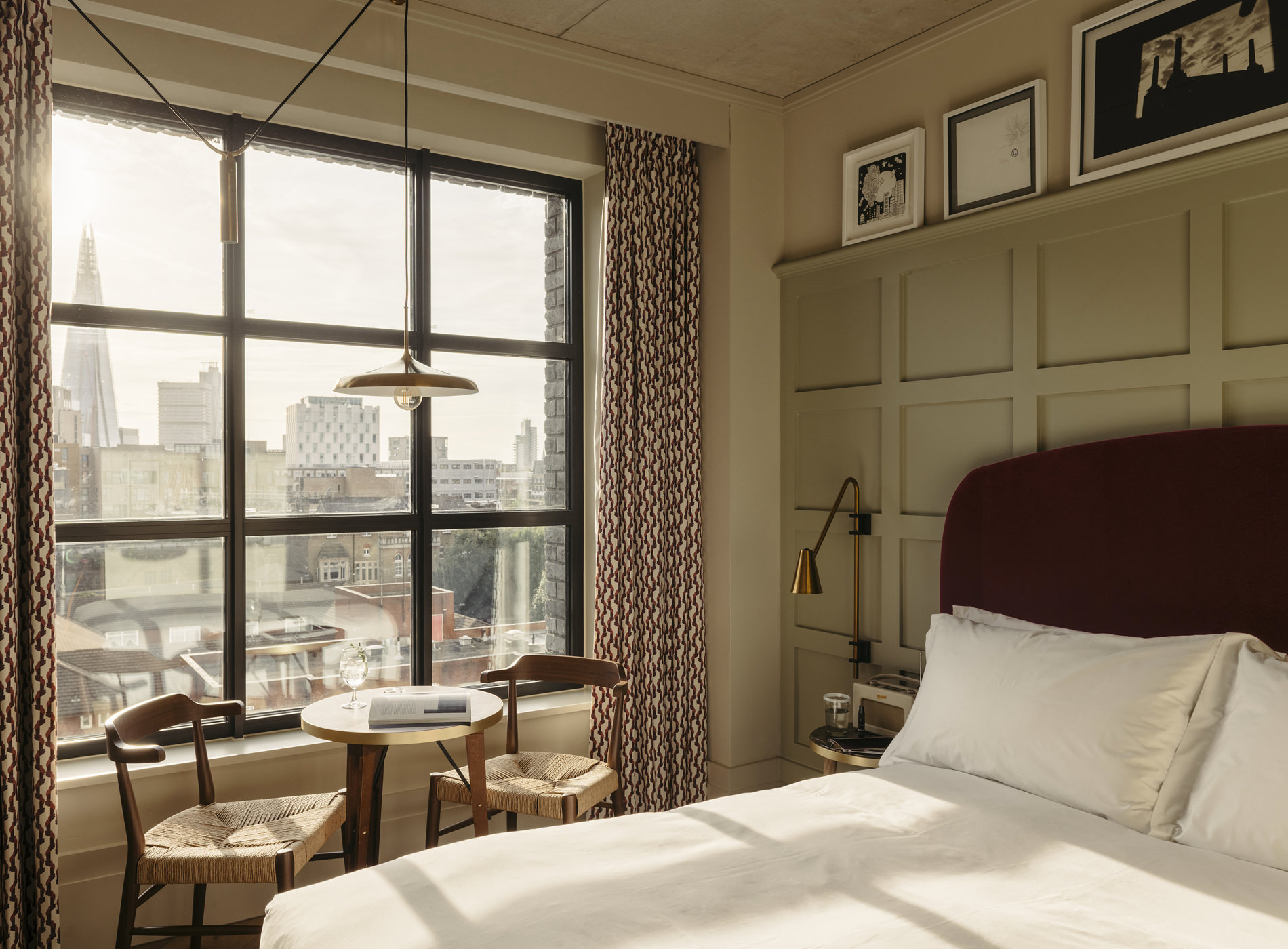 City Guide Londres The Hoxton Southwark Hotel Blackfriars Road London Chambre Cosy